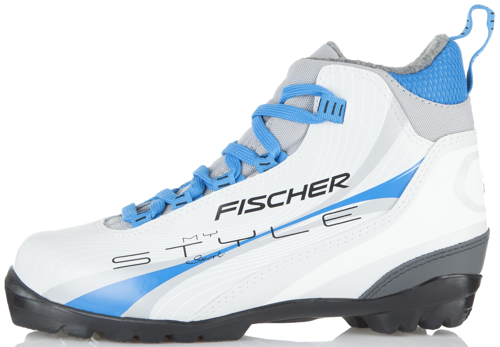 Fischer Ботинки для беговых лыж женские Fischer XC Sport Blue My Style, размер 40 fischer spirit crown my style