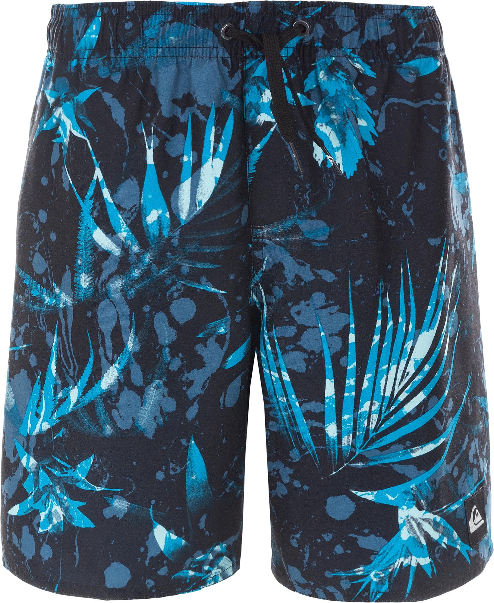 Quiksilver Шорты плавательные для мальчиков Quiksilver Deksey, размер 146-152 quiksilver футболка для мальчиков quiksilver ss classic puke katuna размер 134 140