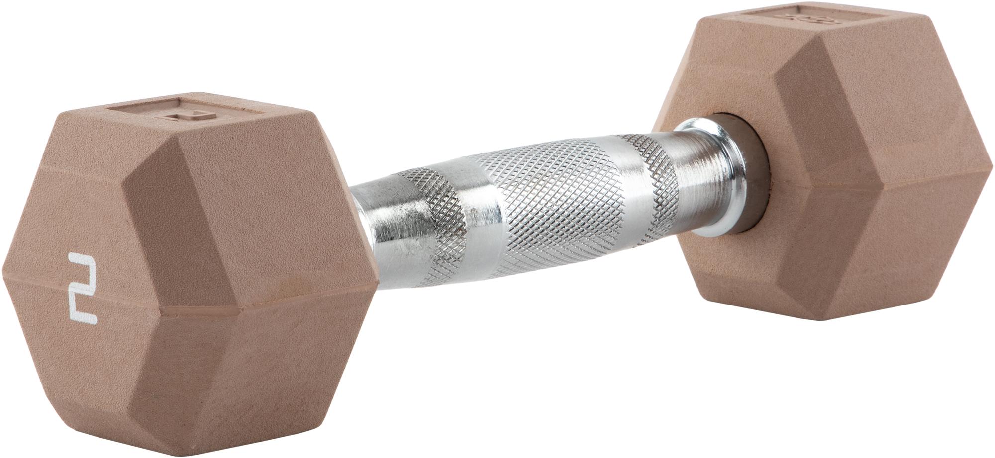 RZR Гантель гексагональная обрезиненная RZR, 2 кг гантель гексагональная original fit tools обрезиненная хромированная ручка 2 кг ft hex 02