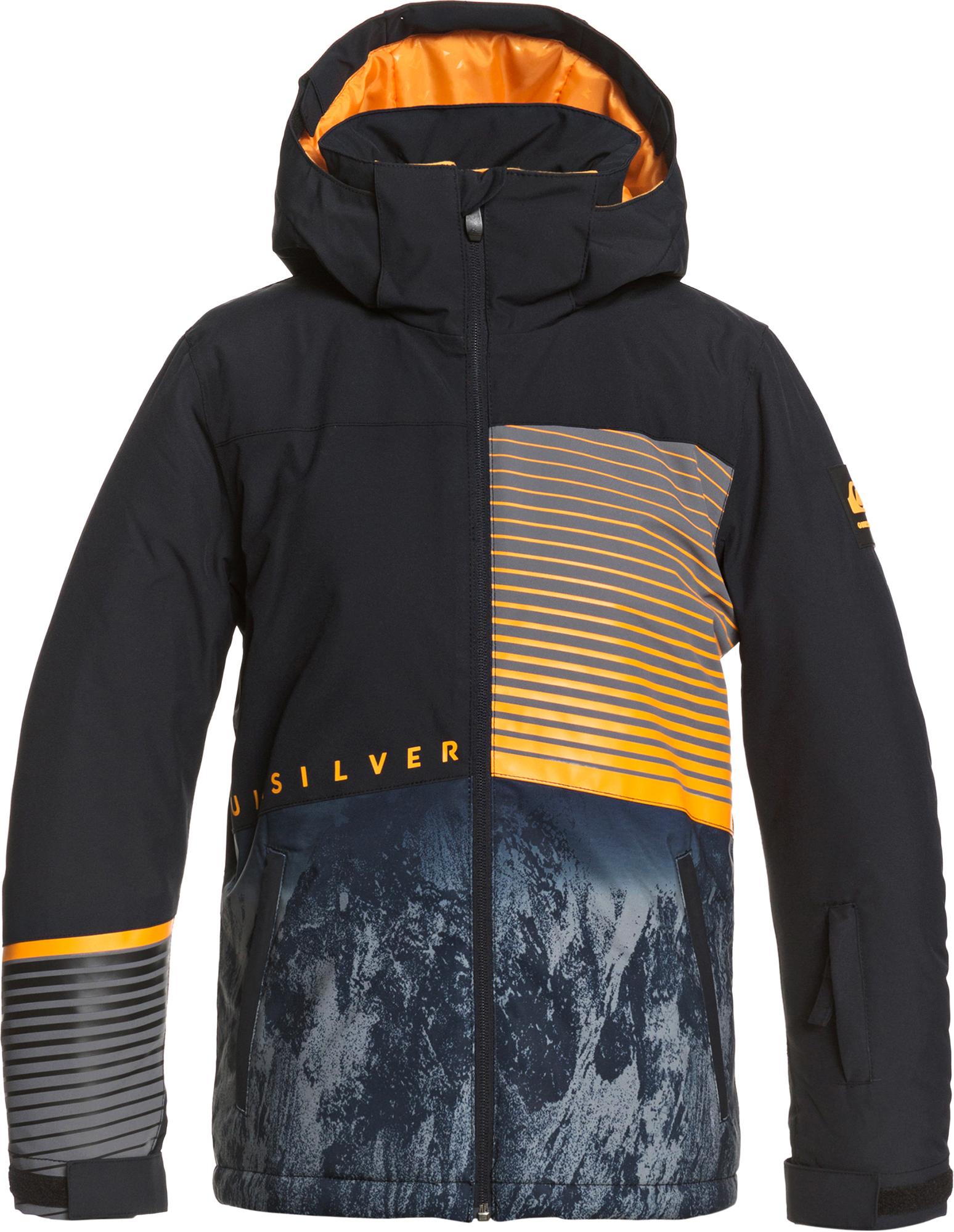 Quiksilver Куртка утепленная для мальчиков Quiksilver Silvertip, размер 134-140