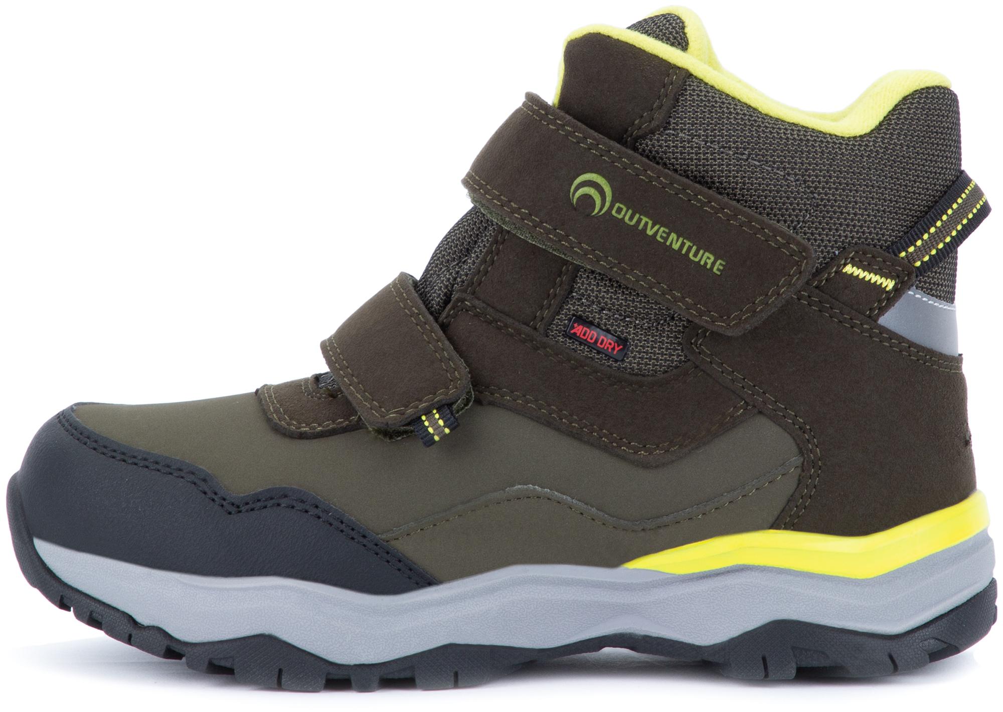 Outventure Ботинки утепленные для мальчиков Pupil, размер 35