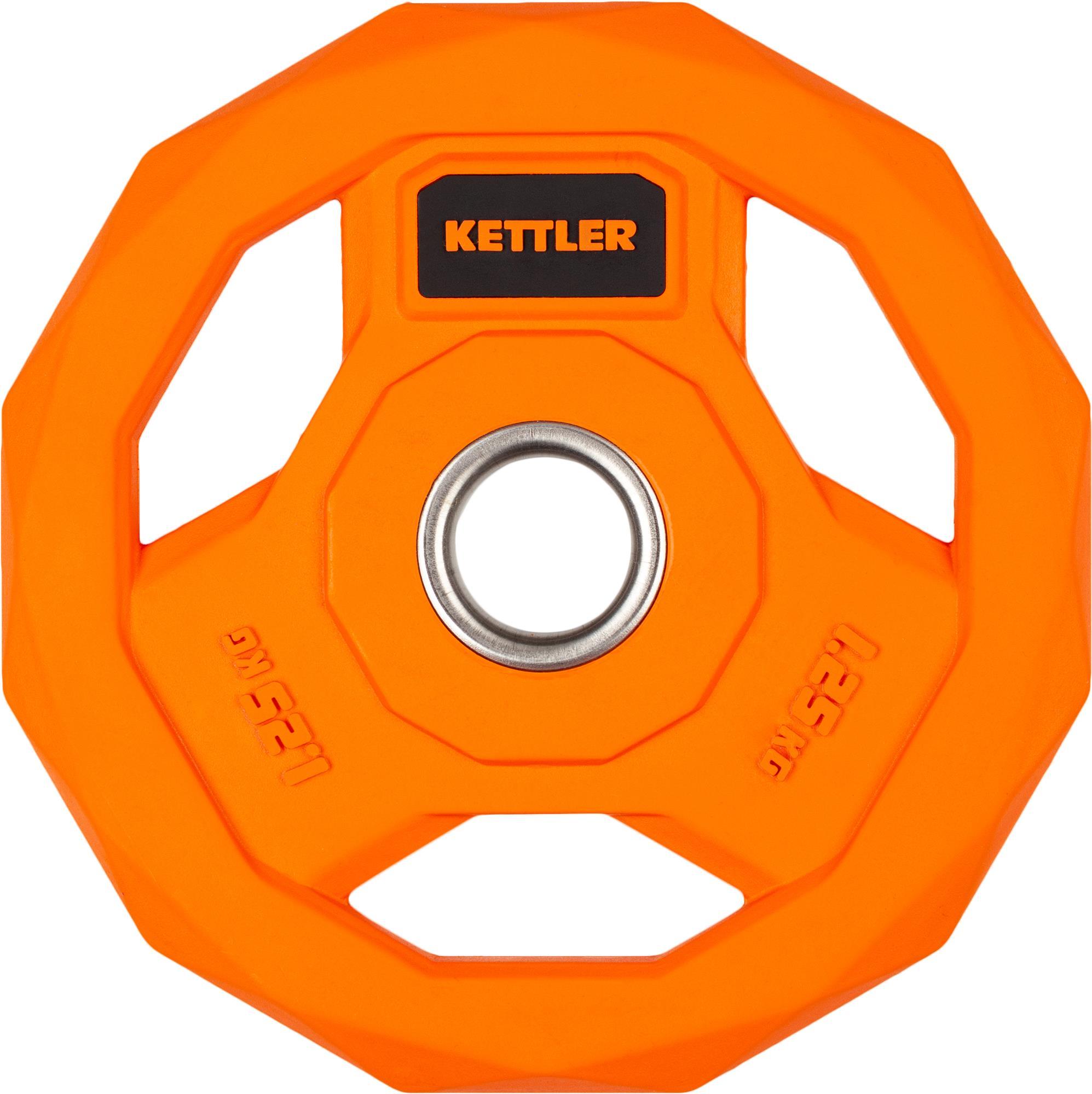 Блин стальной обрезиненный Kettler 1,25 кг, 2020-21