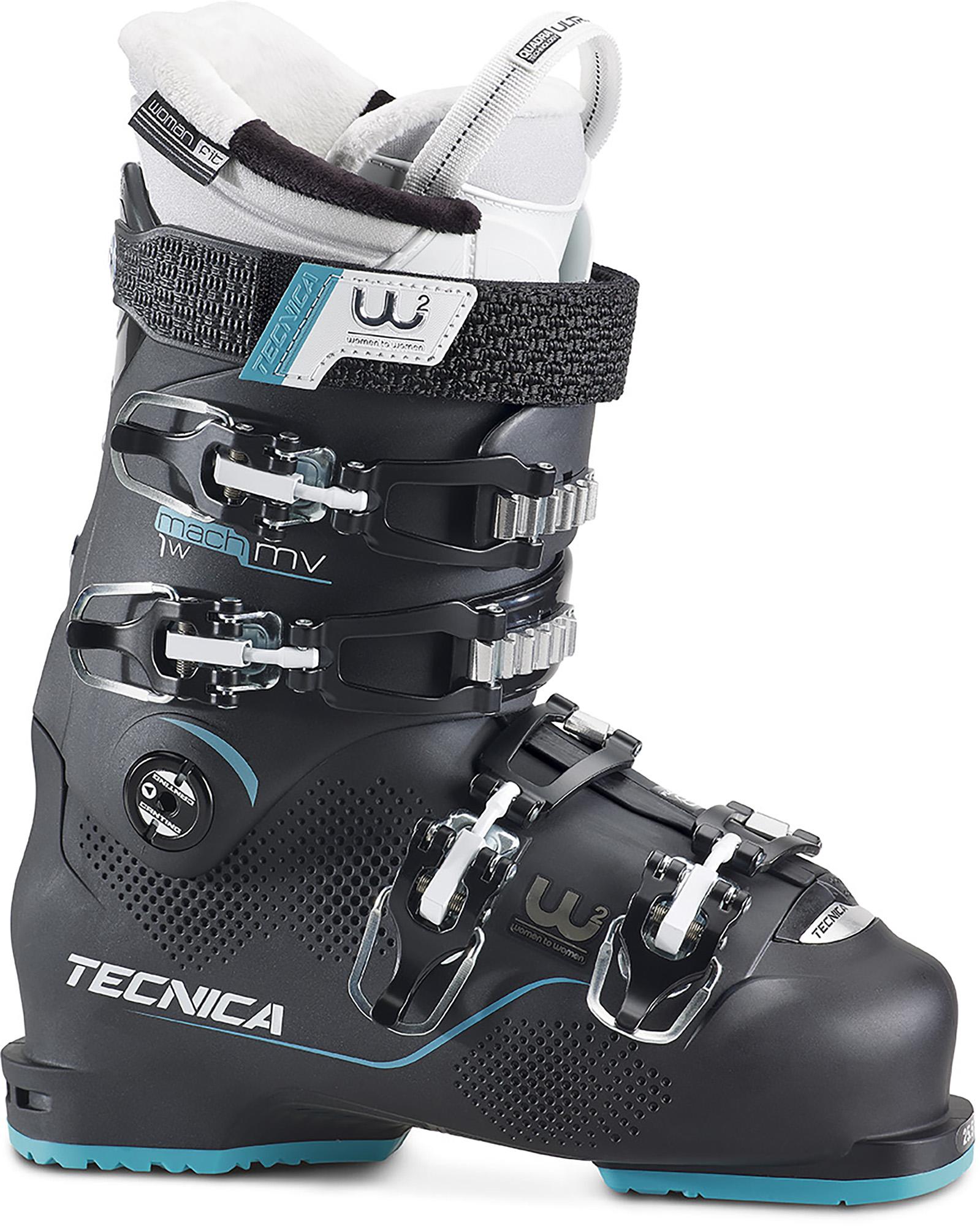 Tecnica Ботинки горнолыжные женские Mach1 85 W MV EU, размер 40,5