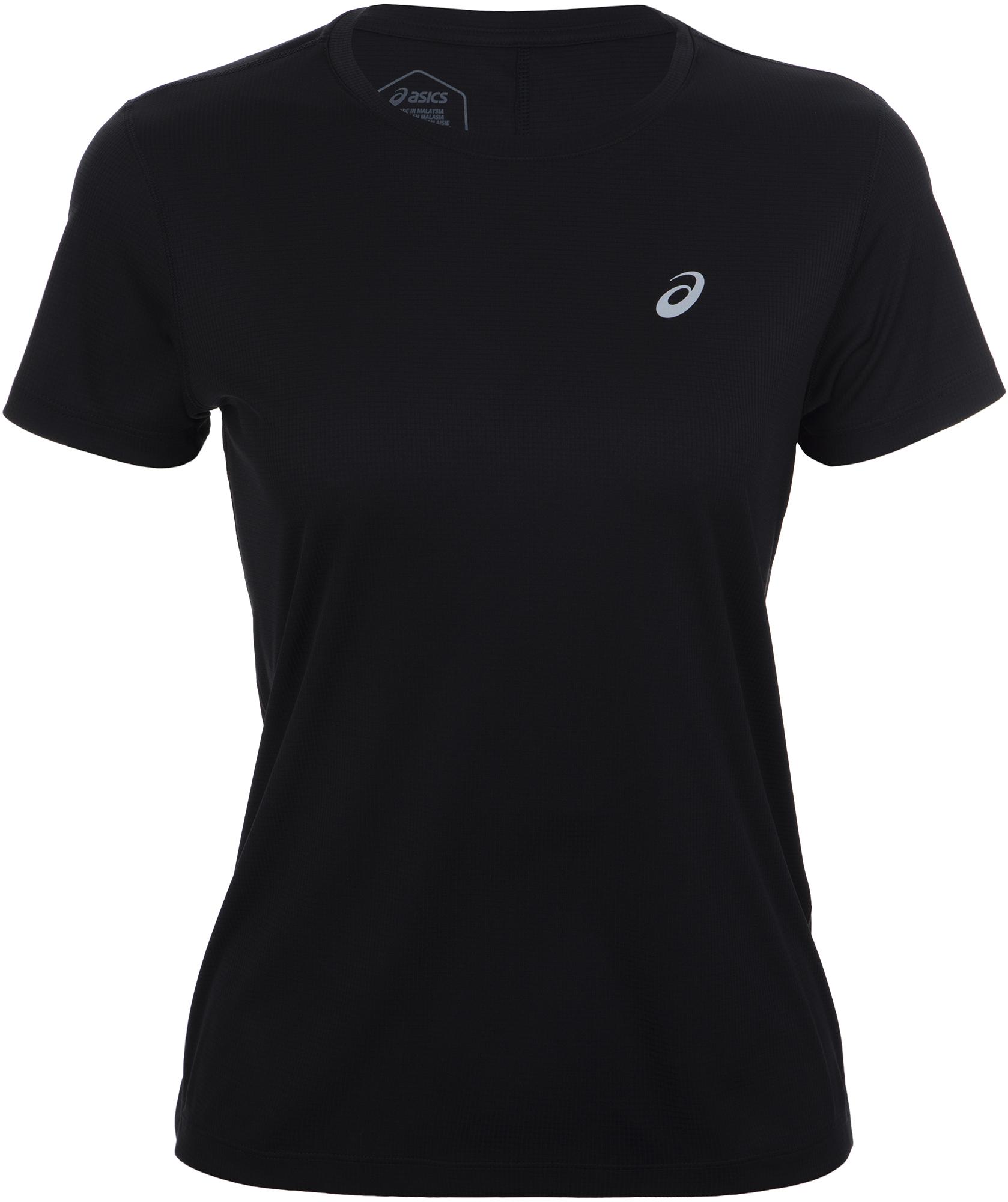 футболка женская oodji ultra цвет бежево розовый 14701005 7b 46147 4b00n размер s 44 ASICS Футболка женская ASICS Silver, размер 44-46