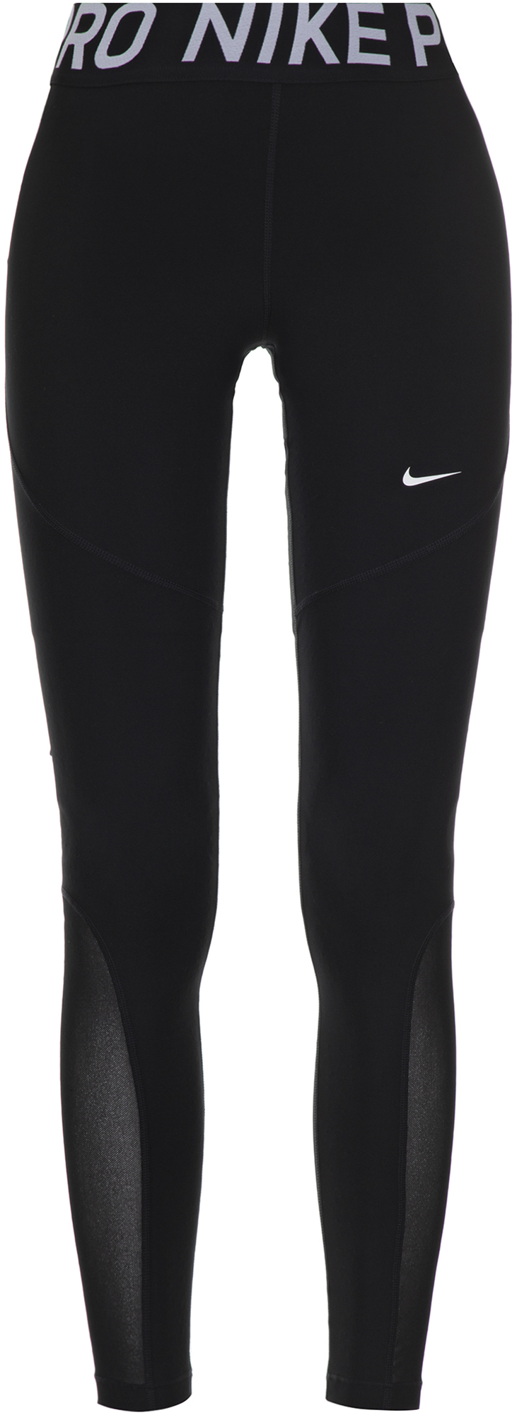 Nike Легинсы женские Nike Pro, размер 48-50 nike nike youth pro hyperwarm compression tights