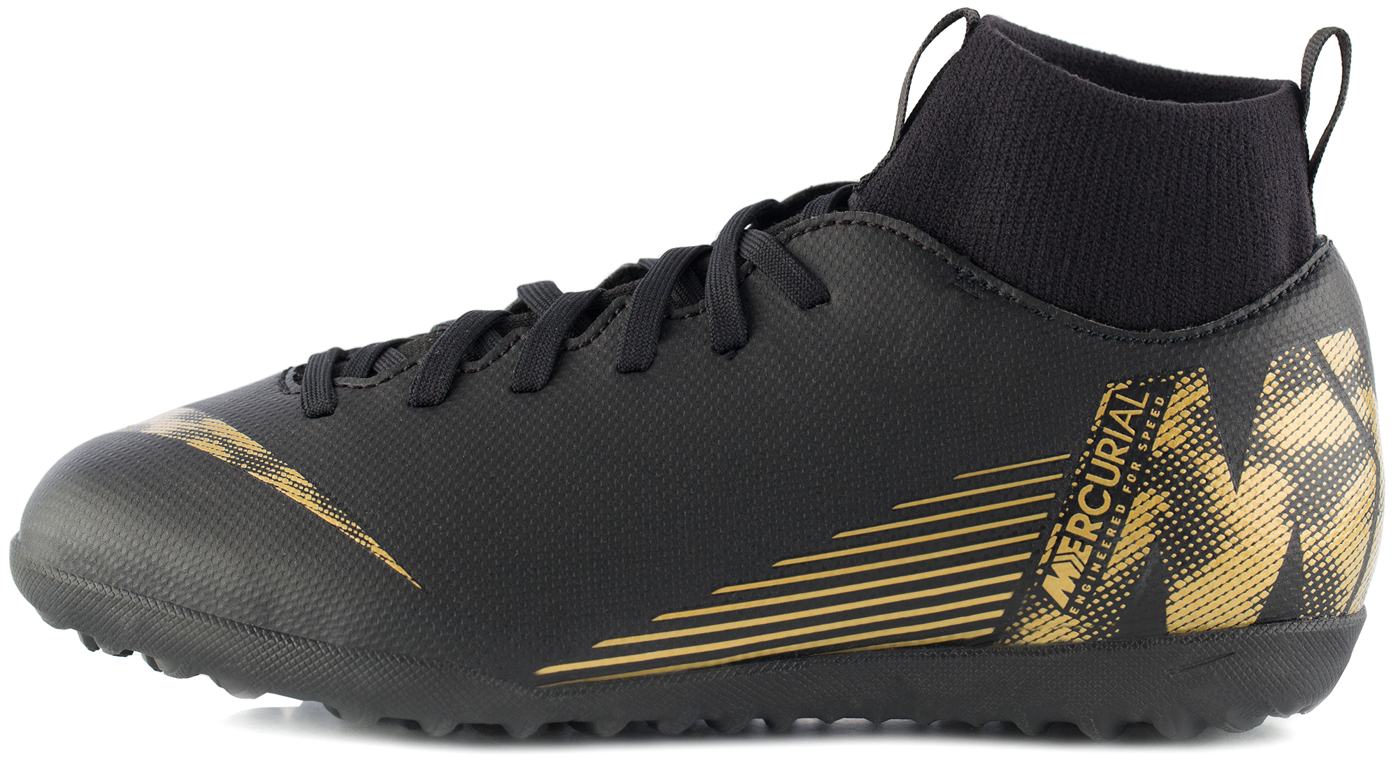 Nike Бутсы для мальчиков Nike Mercurial Superfly 6 Club TF, размер 34.5 бутсы nike superfly 6 club fg mg ah7363 001