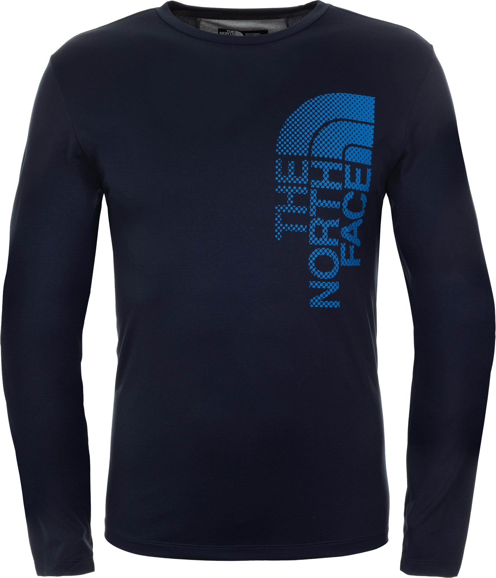The North Face Футболка с длинным рукавом мужская The North Face Ondras, размер 52 футболка спортивная the north face the north face th016eweyha1