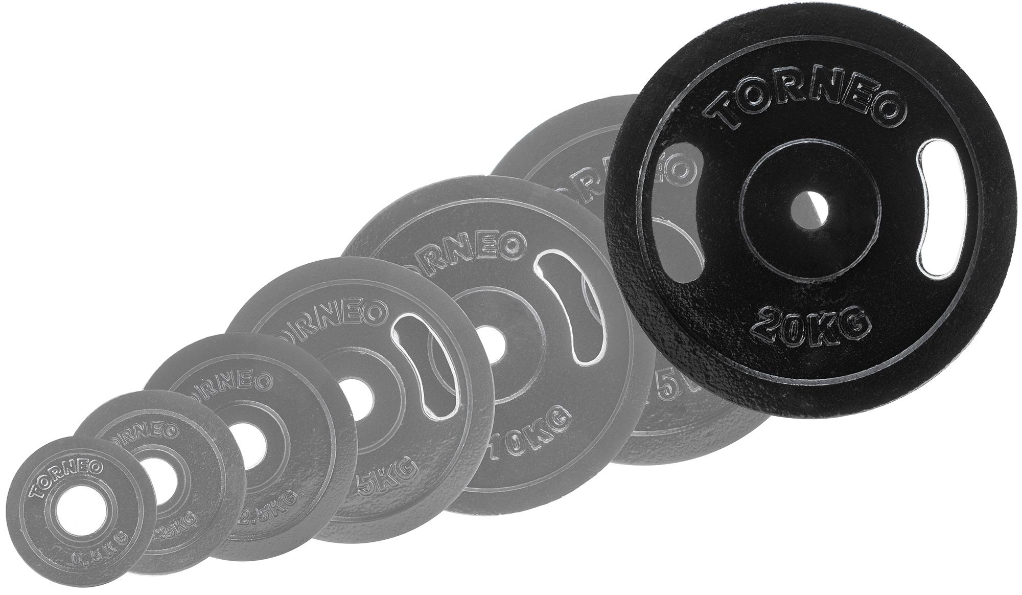 Torneo Блин Torneo стальной, 20 кг