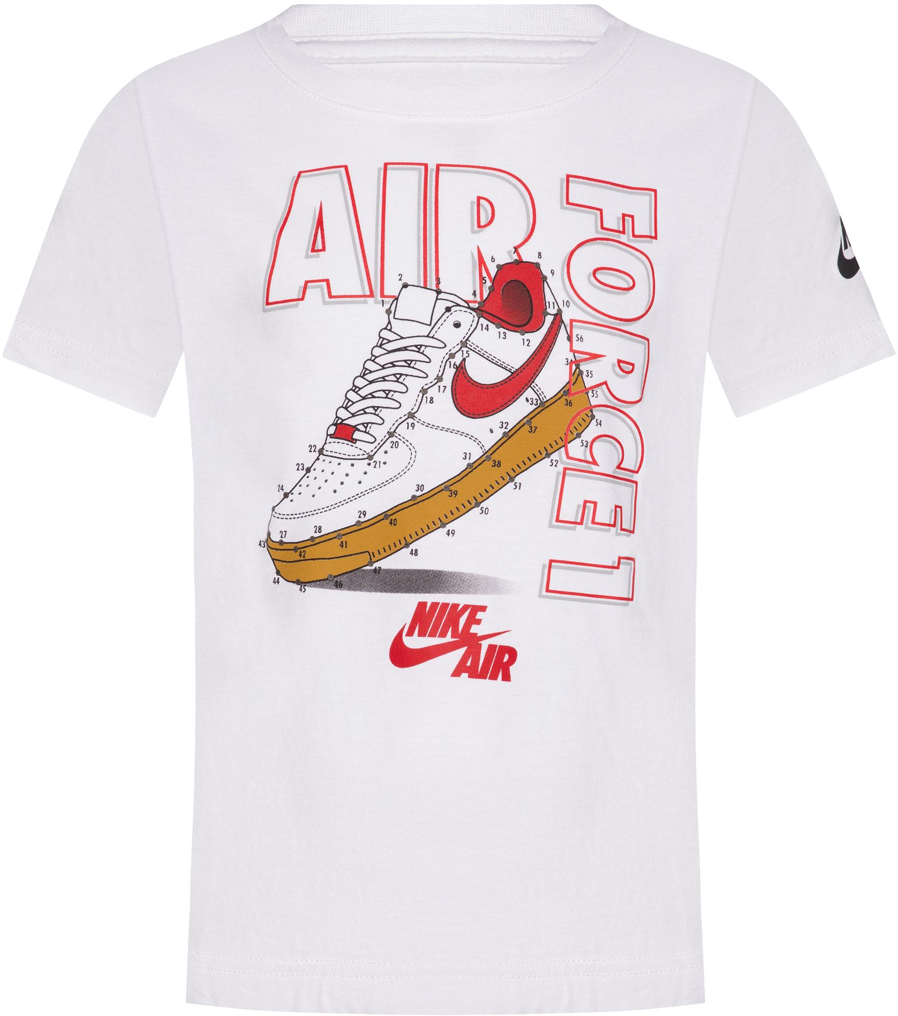 Nike Футболка для мальчиков Nike Connect The Dots, размер 122 nike футболка для мальчиков nike geo basketball