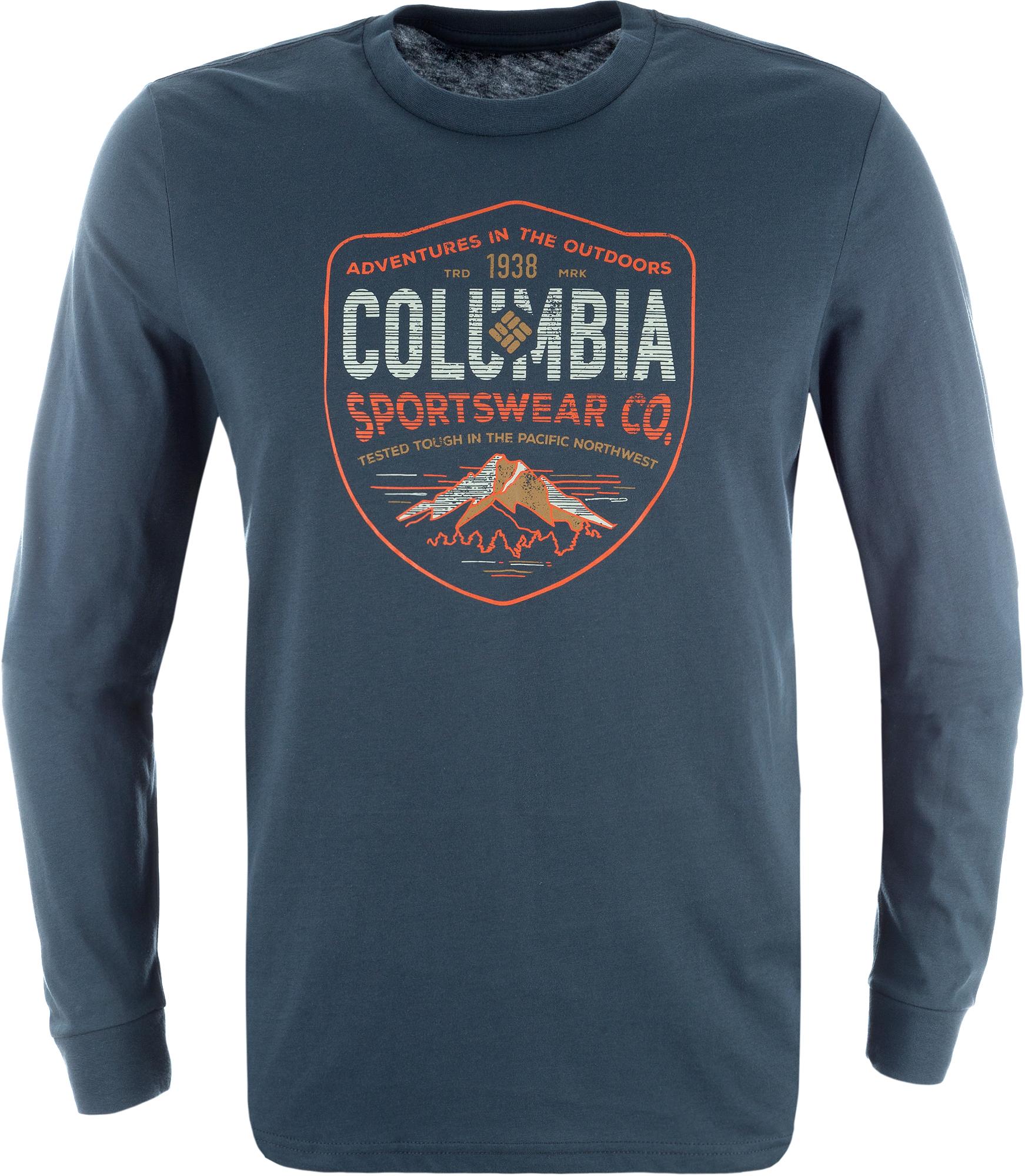 Columbia Футболка с длинным рукавом мужская Columbia Rugged Shield, размер 56-58