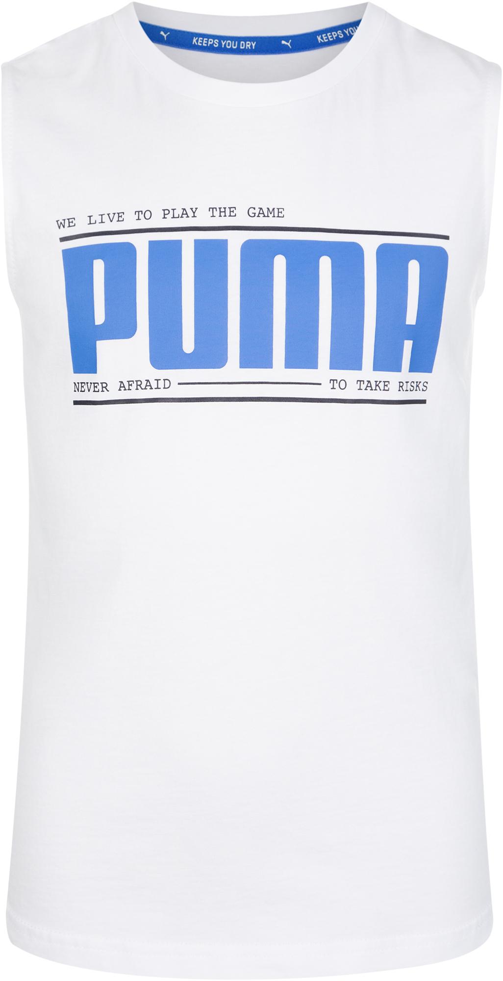 Фото - Puma Майка для мальчиков Puma, размер 164 майка спортивная puma puma pu053ewdzsv1