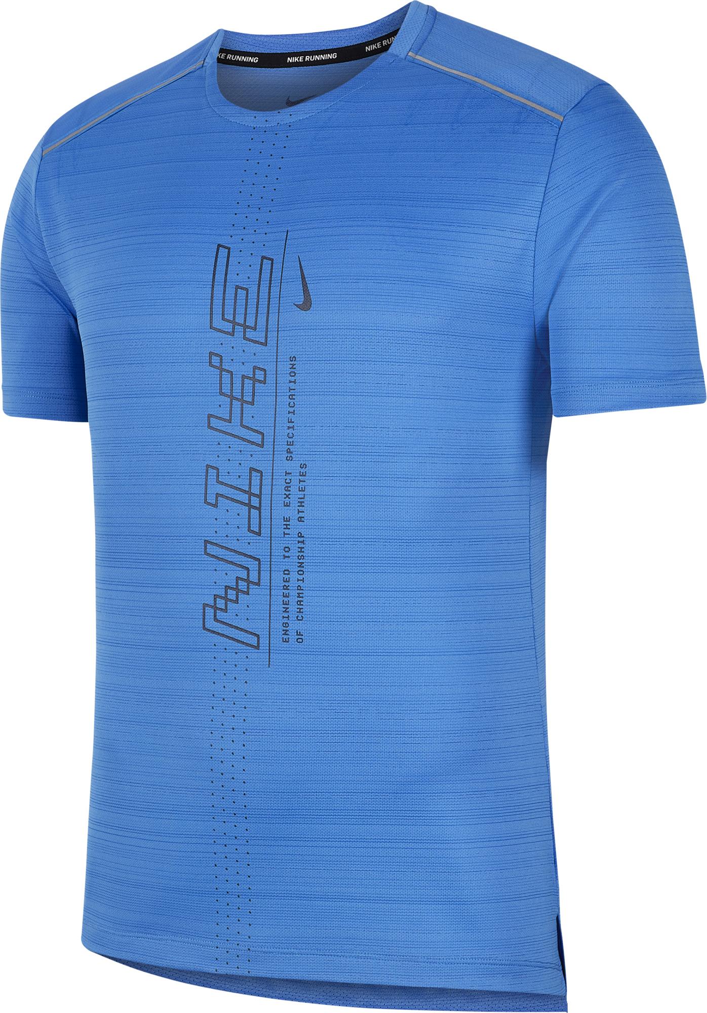 цена на Nike Футболка мужская Nike Dri-FIT Miler, размер 44-46