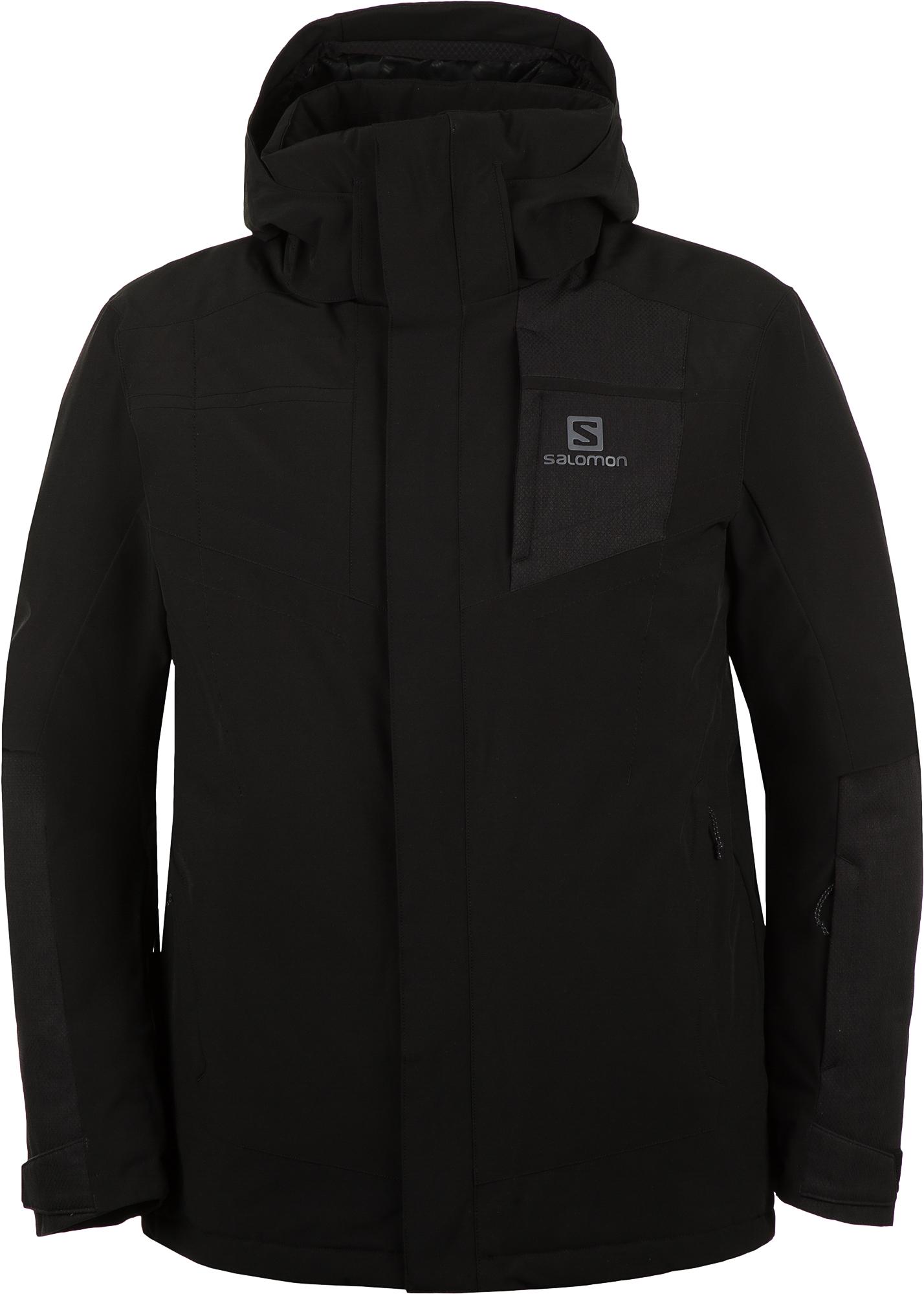 цена Salomon Куртка утепленная мужская Salomon Stormstrong, размер 44-46 онлайн в 2017 году