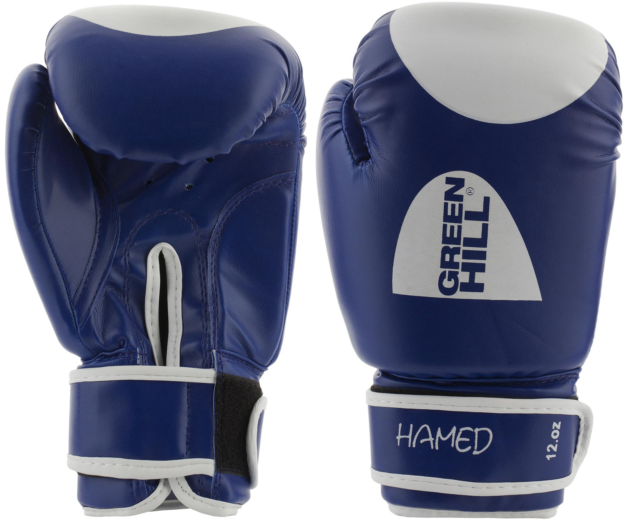цена на Green Hill Перчатки боксерские Green Hill Hamed, размер 14 oz