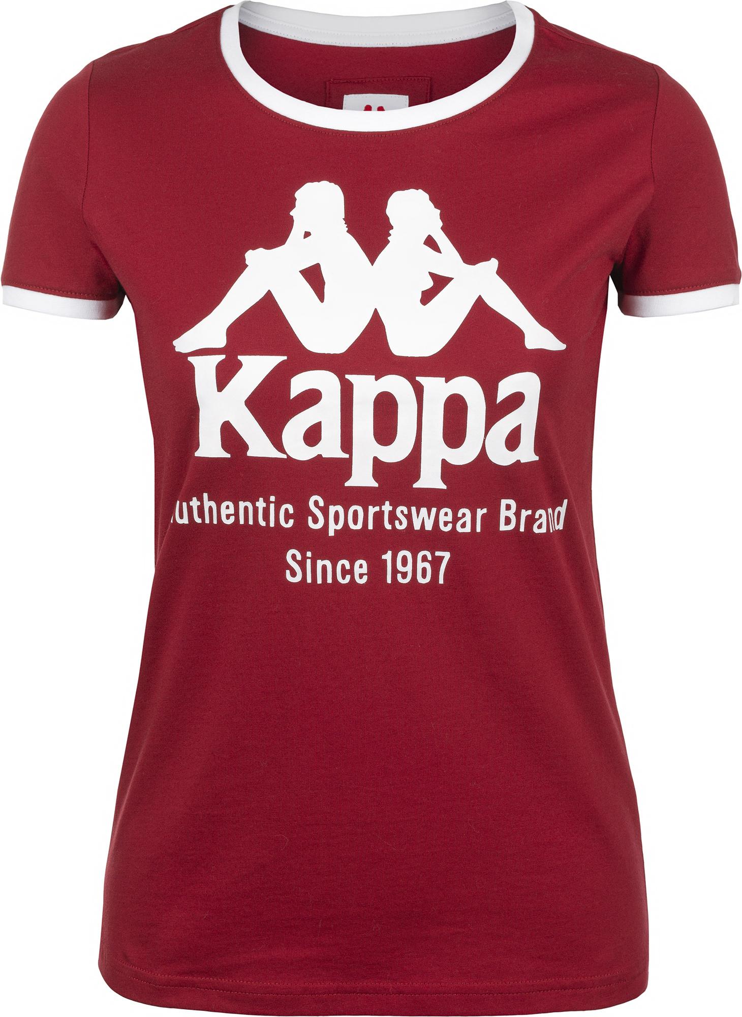 Kappa Футболка женская Kappa, размер 54 цена