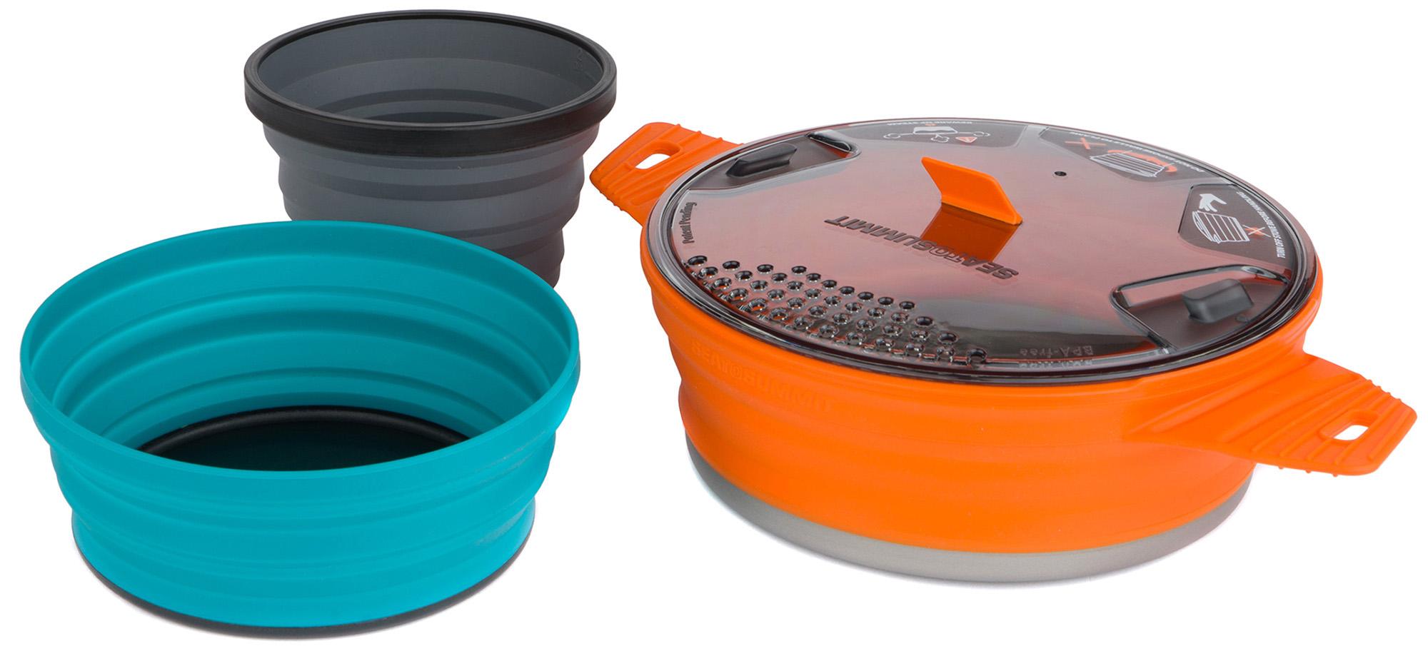 SEA TO SUMMIT Набор посуды SEA TO SUMMIT X-Set комплектующие для спортивных сумок sea to summit 56928afrb25spp 2015 afrb25srpp