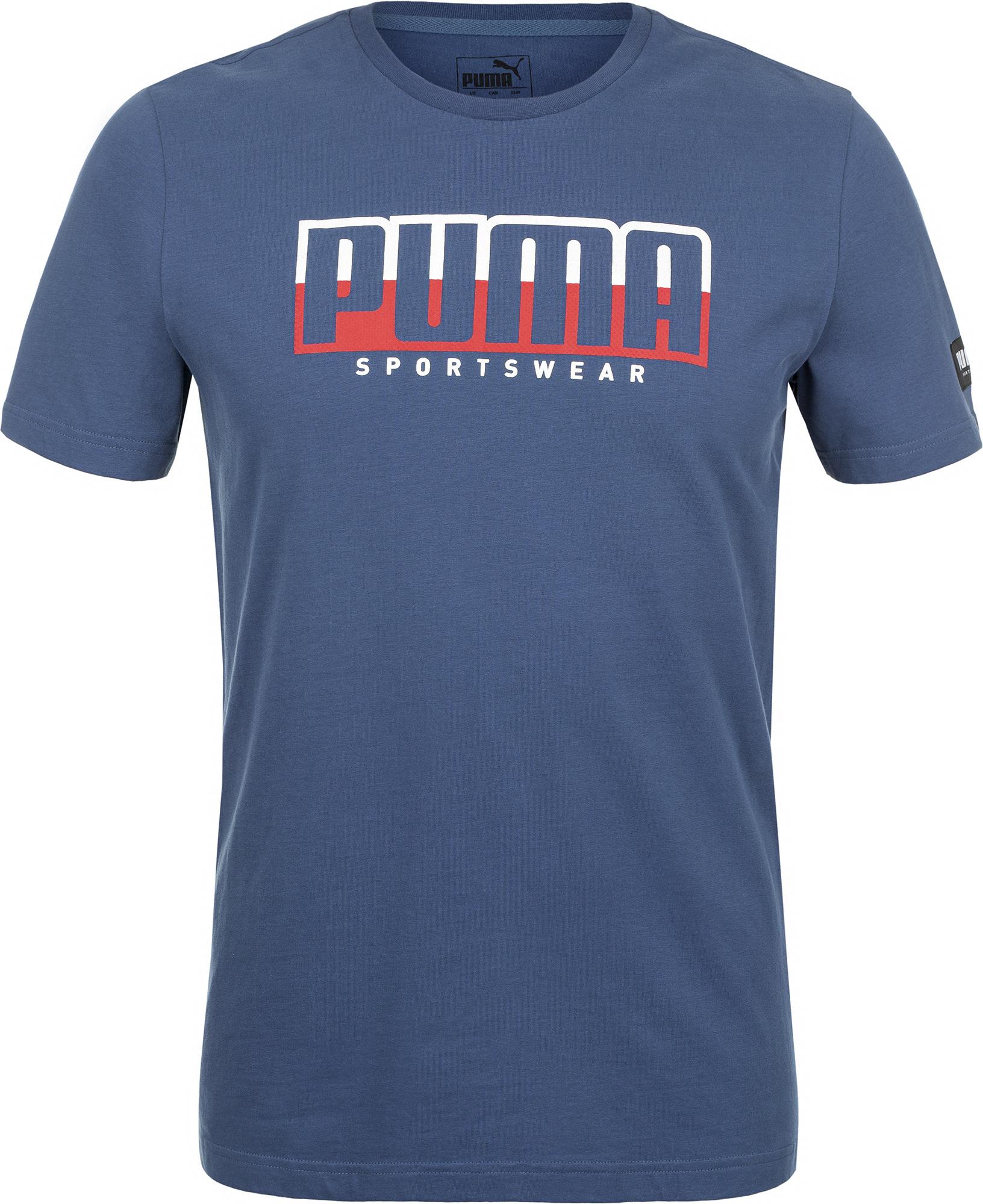 PUMA Футболка мужская Puma Athletics Tee Big Logo, размер 46-48