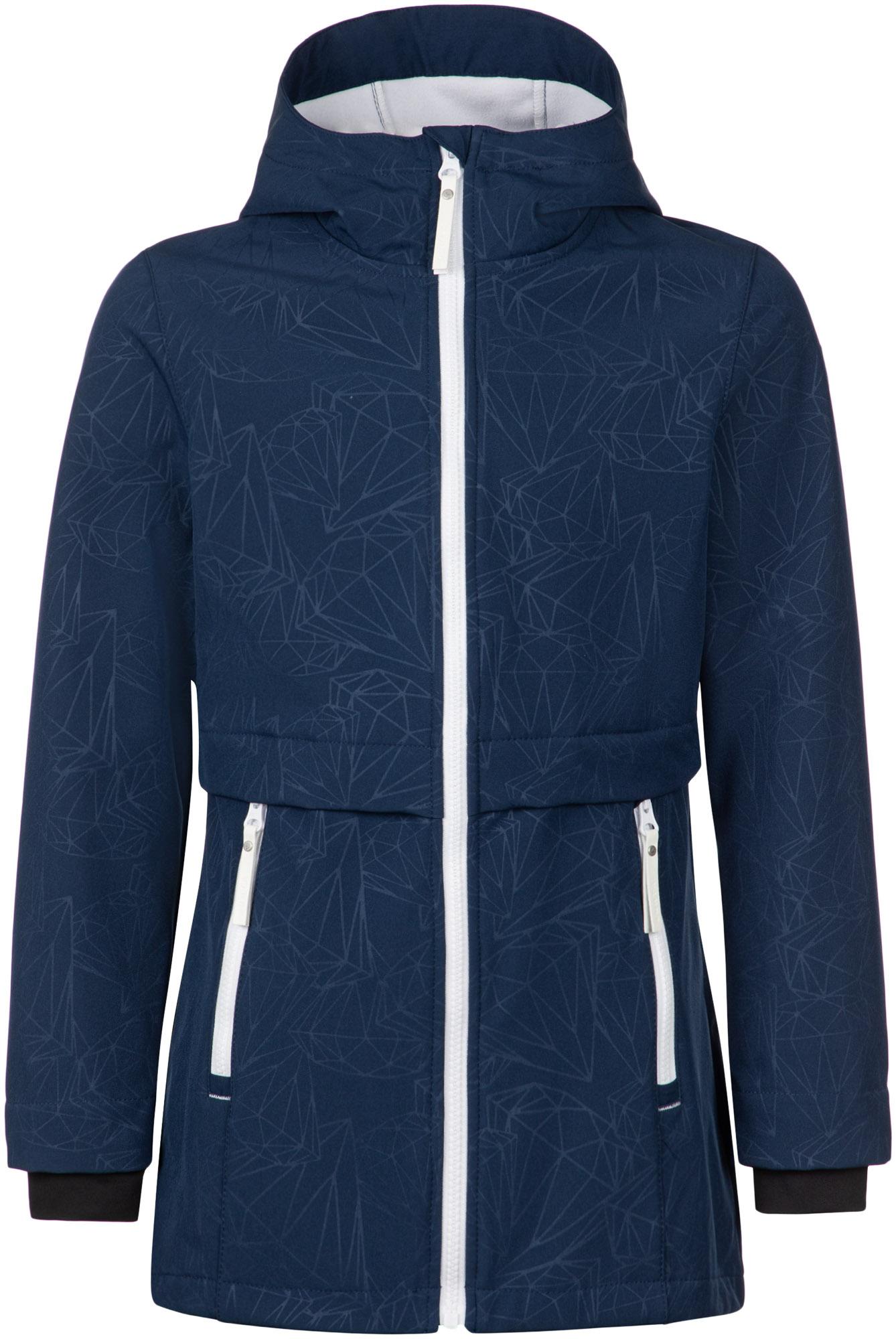 Luhta Куртка софтшелл для девочек Luhta Luhanka, размер 164 куртка утепленная luhta luhta lu692ewcovk3