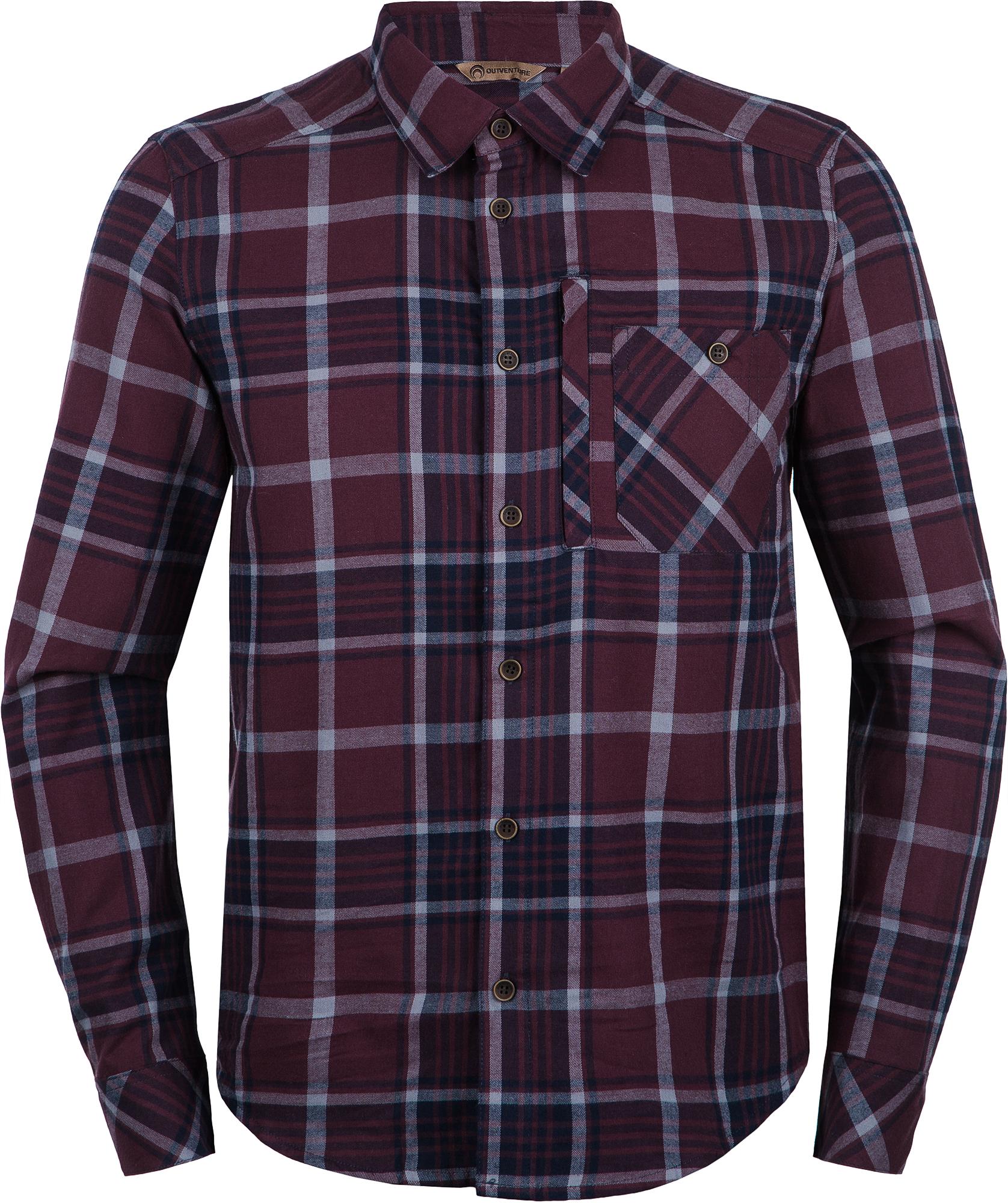 цены Outventure Рубашка мужская Outventure, размер 48