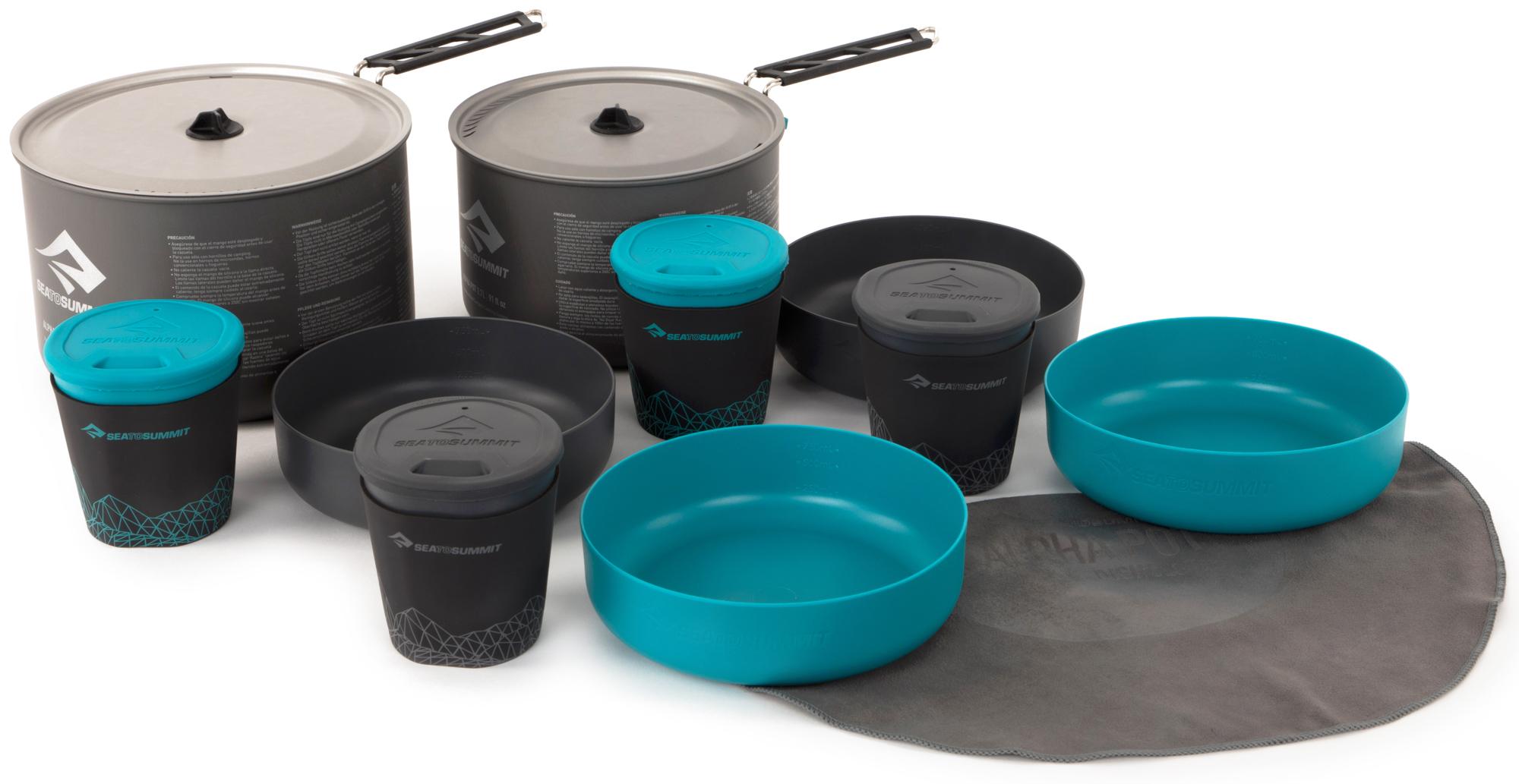 SEA TO SUMMIT Набор посуды SEA TO SUMMIT Alpha 2 Pot Cook Set 4.2
