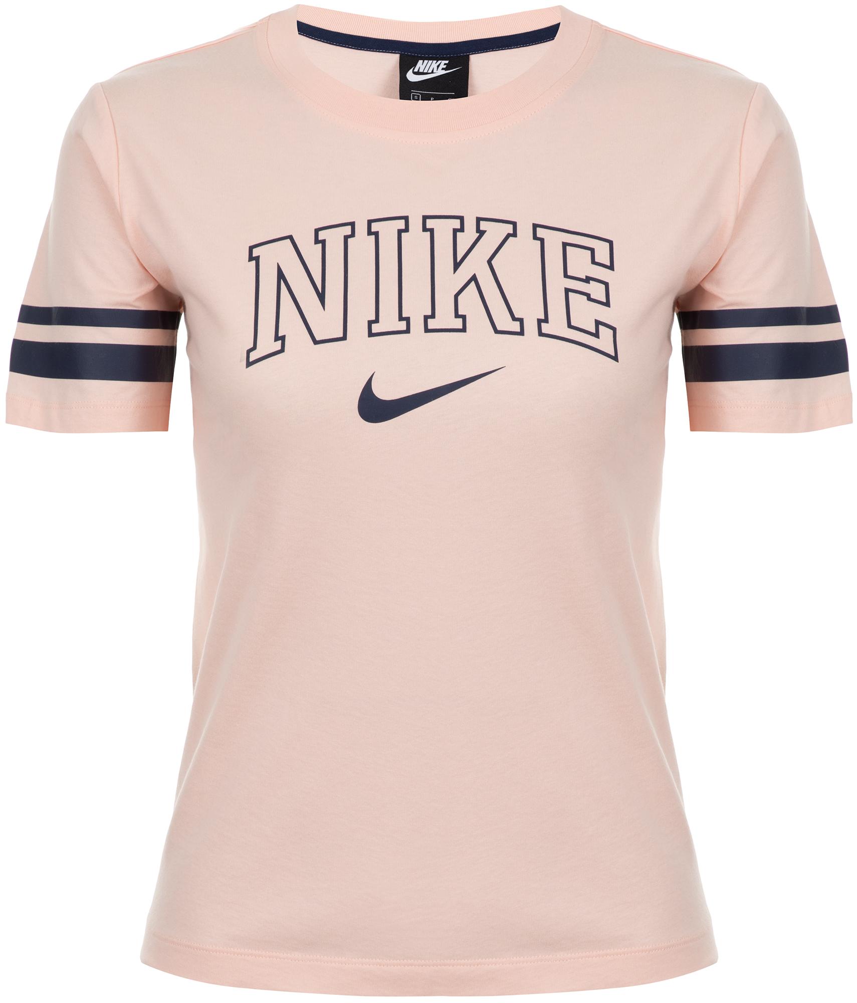 Nike Футболка женская Nike Sportswear, размер 50-52 цена