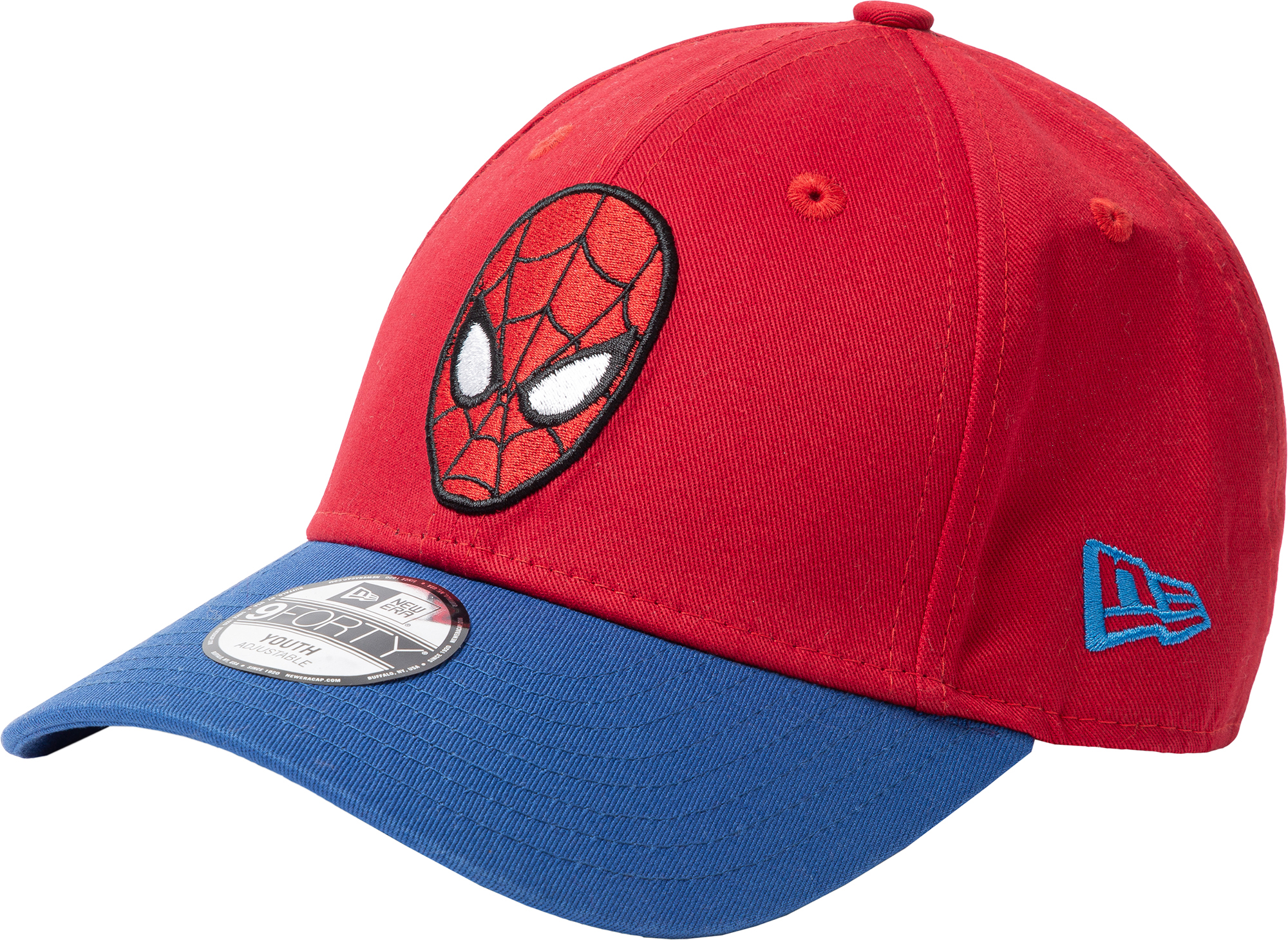 New Era Бейсболка для мальчиков New Era Character 940, размер 54-55 new era шапка для мальчиков new era ne cuff pom размер 54 55