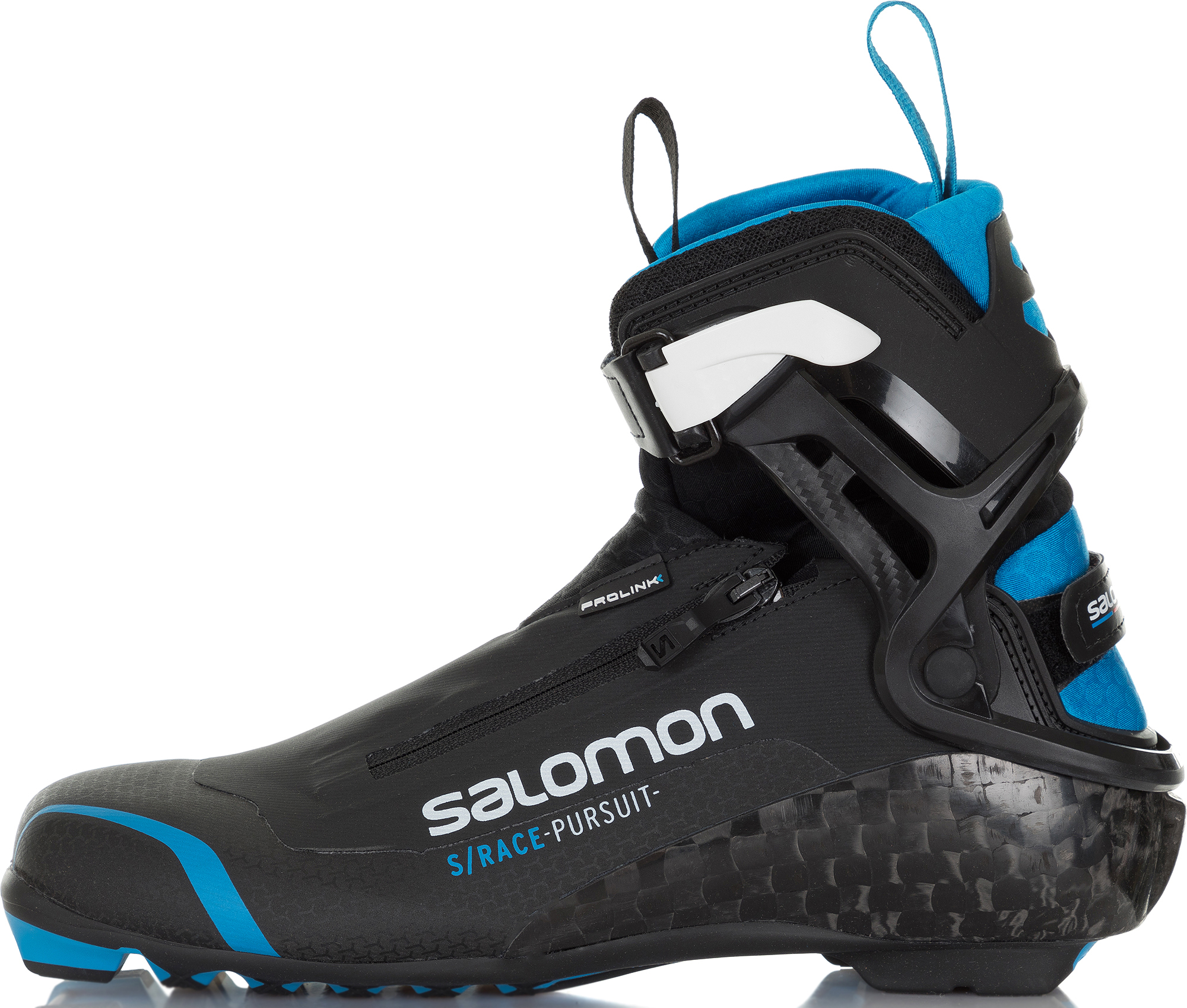Salomon Ботинки для беговых лыж Salomon S/Race Pursuit Prolink, размер 44 ботинки для беговых лыж salomon equipe 8x skate prolink цвет черный размер 10 5 44