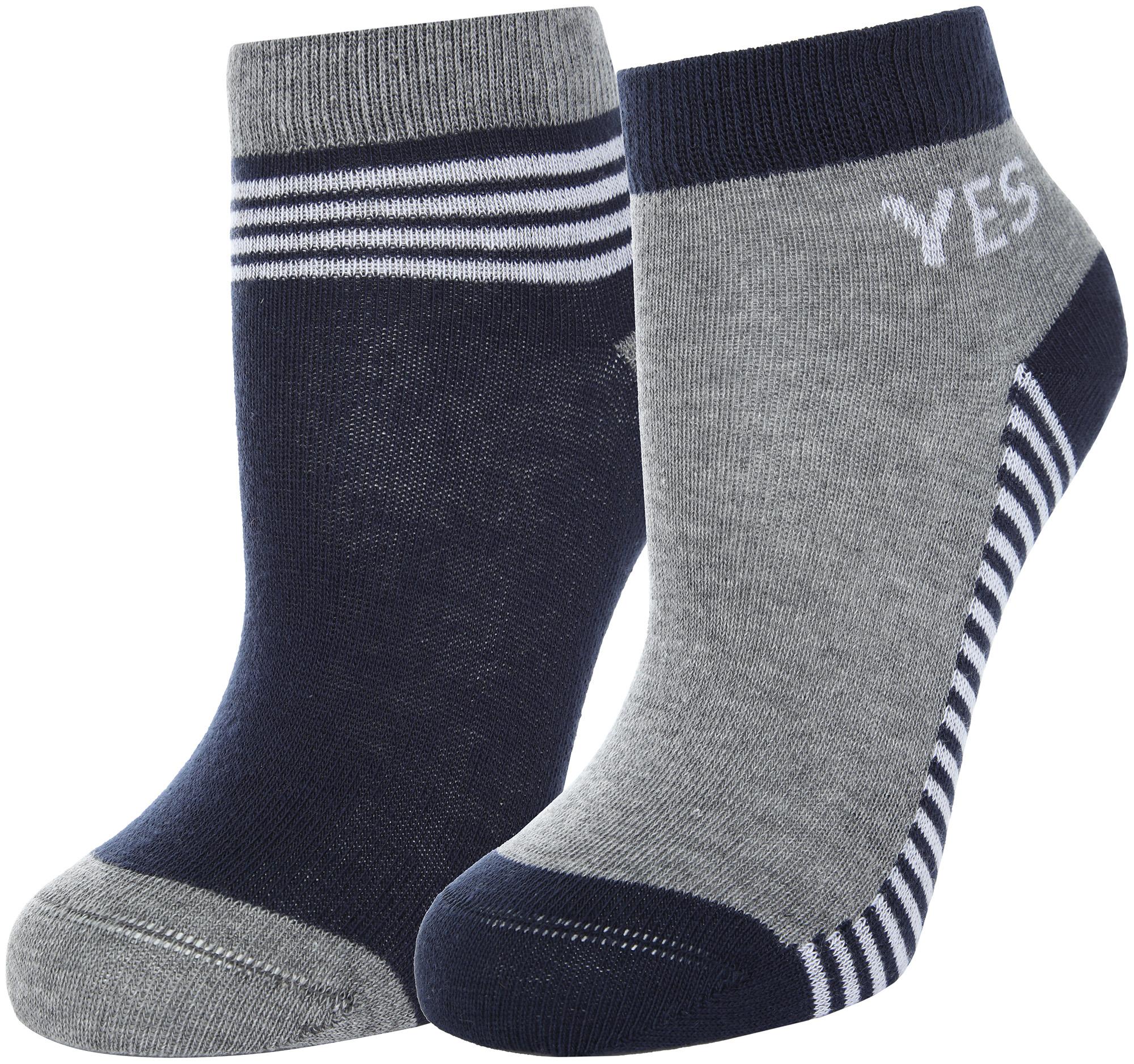 Demix Носки для мальчиков Demix, 2 пары, размер 25-27 demix носки детские demix 3 пары размер 31 33