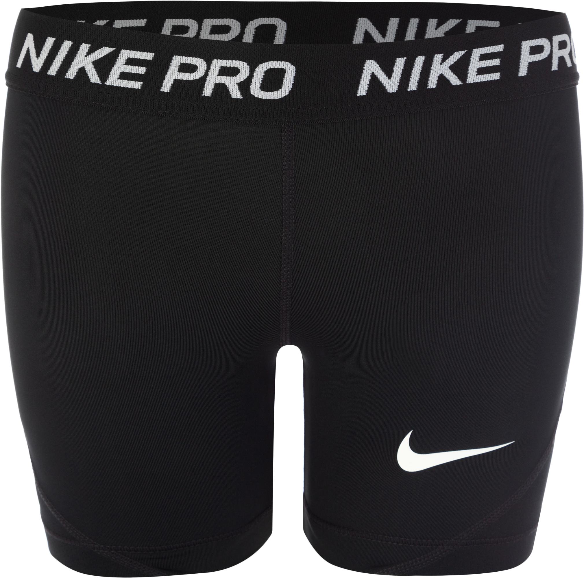 Nike Шорты для девочек Pro, размер 156-164