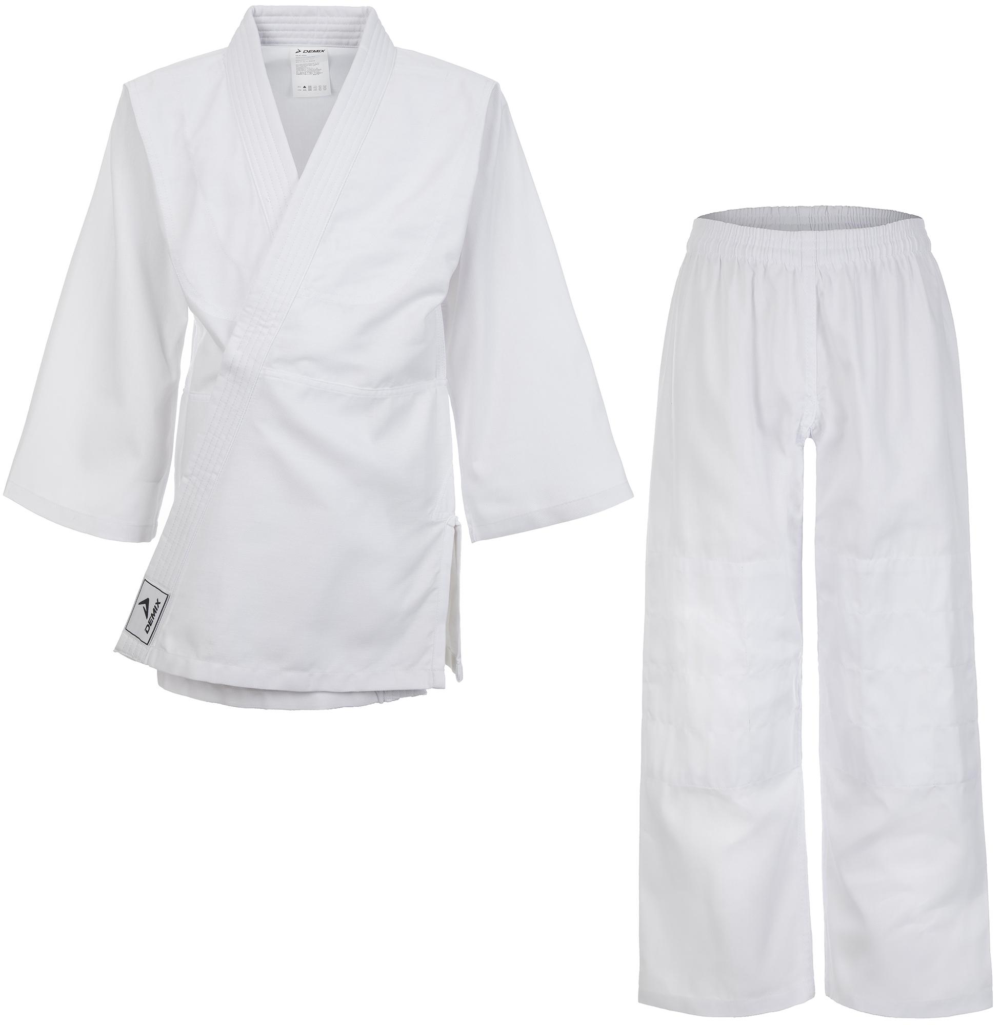 Demix Кимоно для дзюдо для мальчиков Demix, размер 150 цена