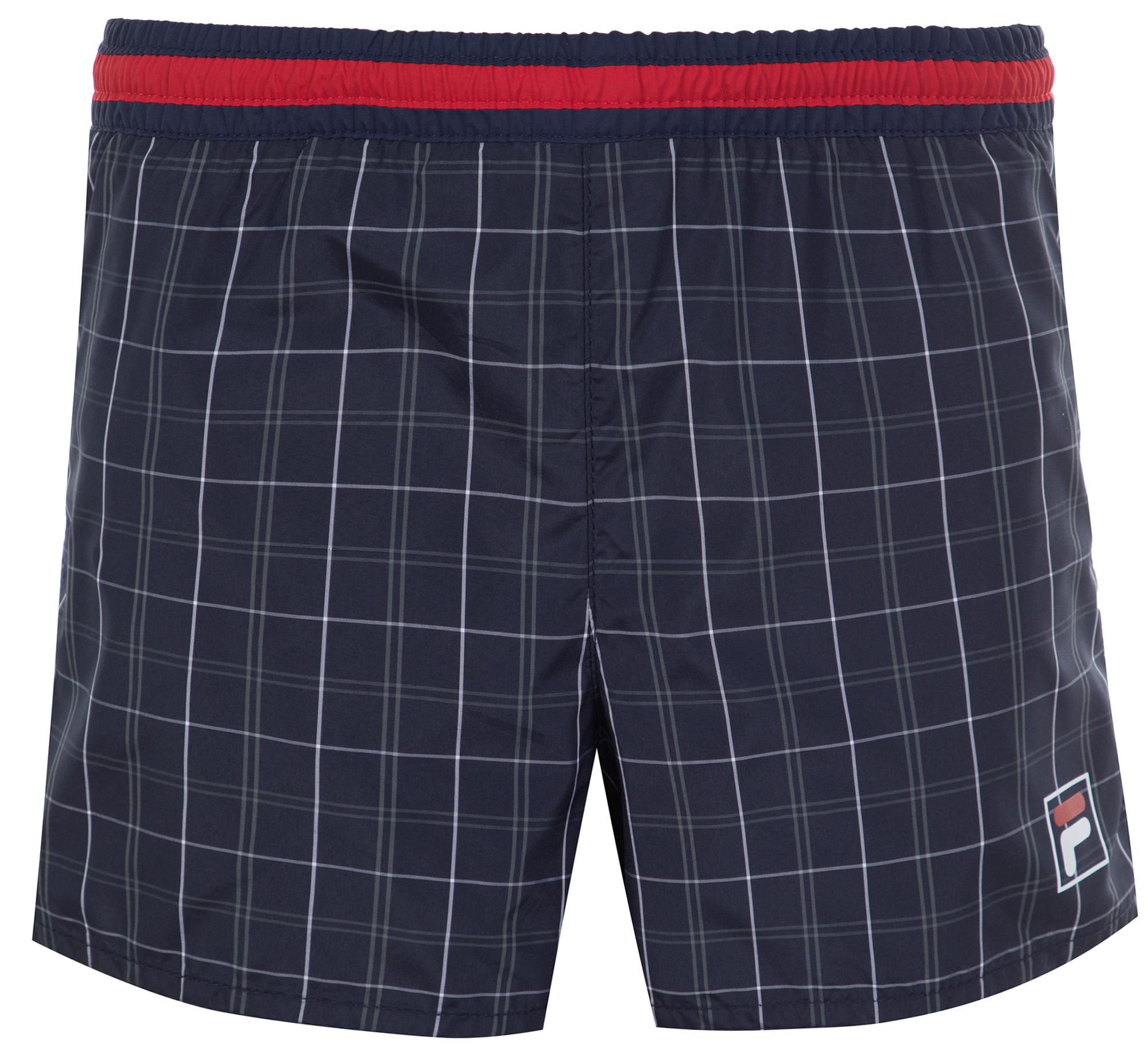 fila шорты для мальчиков fila размер 128 Fila Шорты плавательные для мальчиков Fila, размер 164