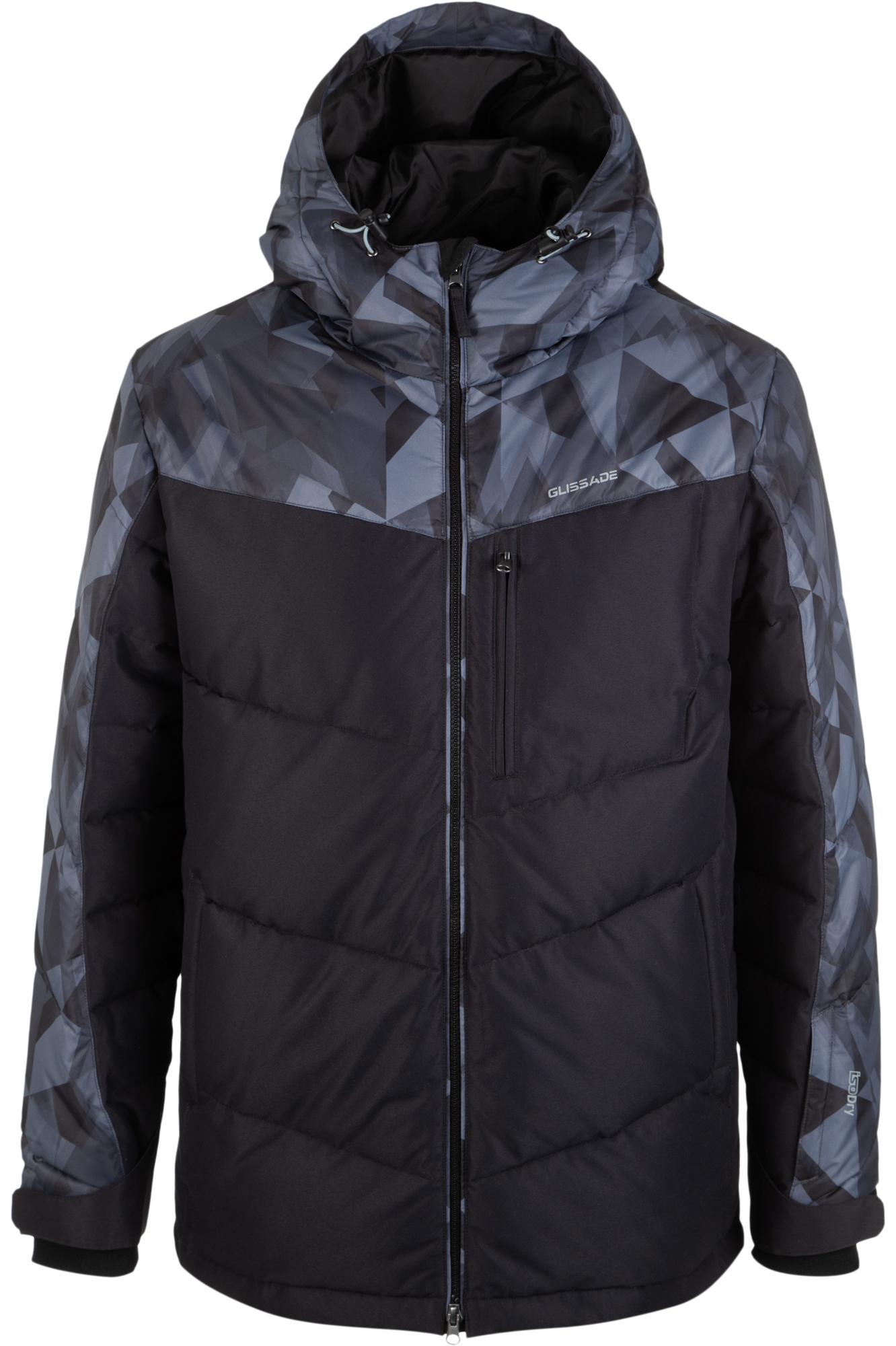 Glissade Куртка утепленная мужская Glissade, размер 56-58 куртка утепленная conso wear conso wear mp002xw0tupn