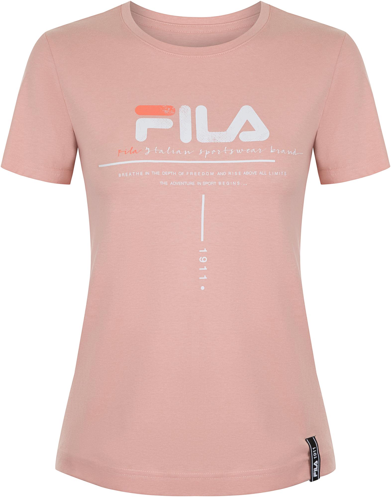 Fila Футболка женская Fila, размер 48 цена