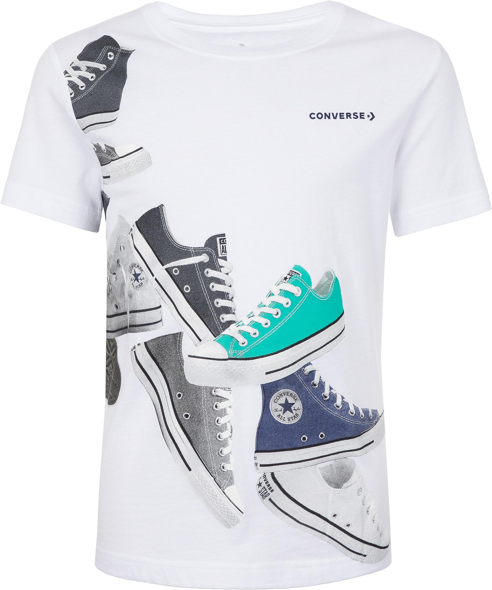 Converse Футболка для мальчиков Chucks Wrap, размер 164