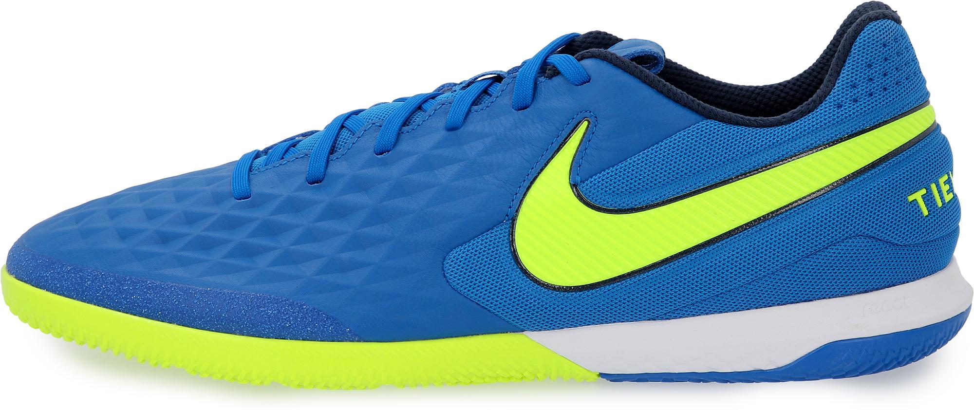Nike Бутсы мужские Nike React Legend 8 Pro Ic, размер 41.5 бутсы мужские nike legend 8 club ic размер 41