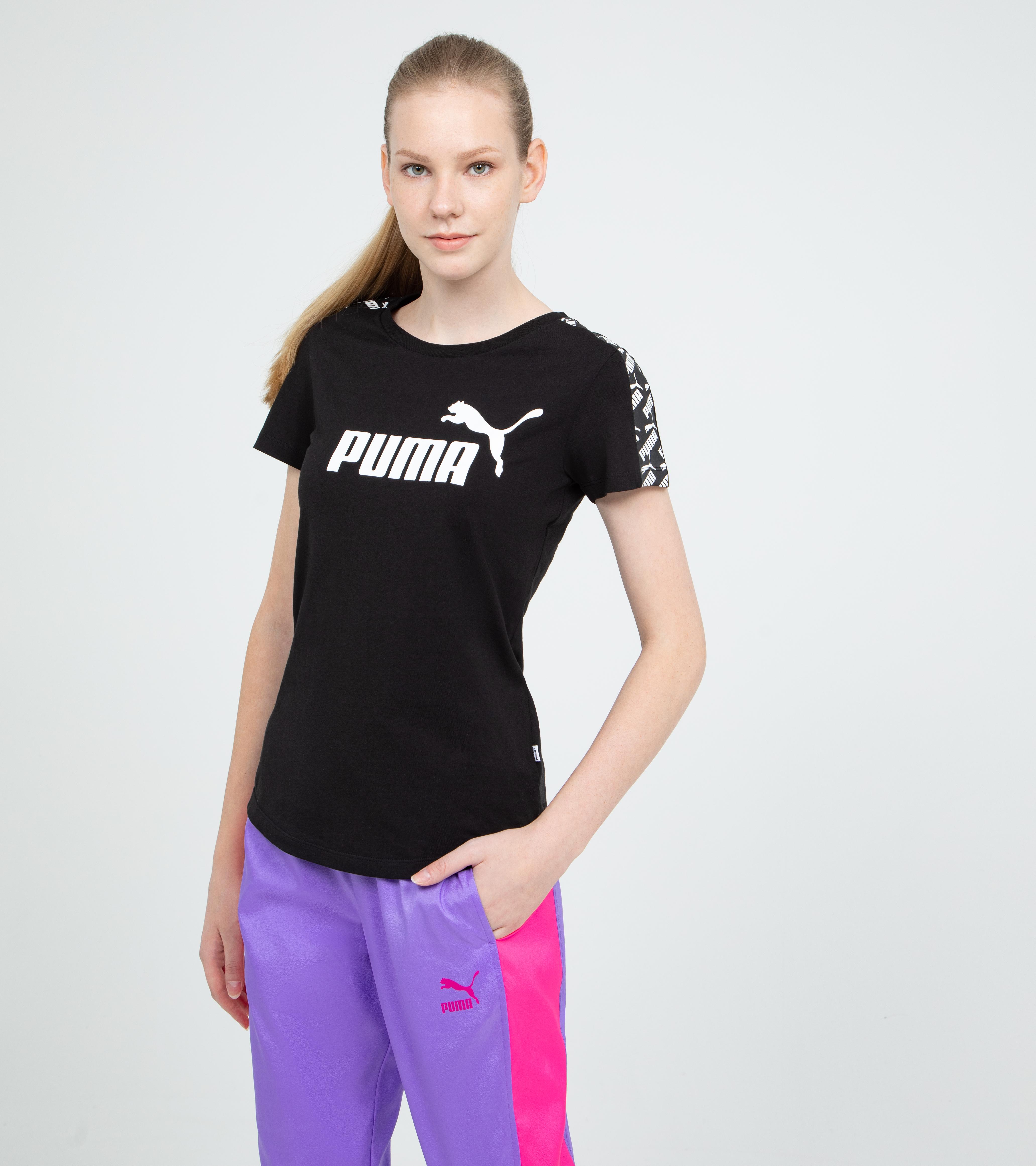 PUMA Футболка женская Puma Amplified Tee, размер 44-46