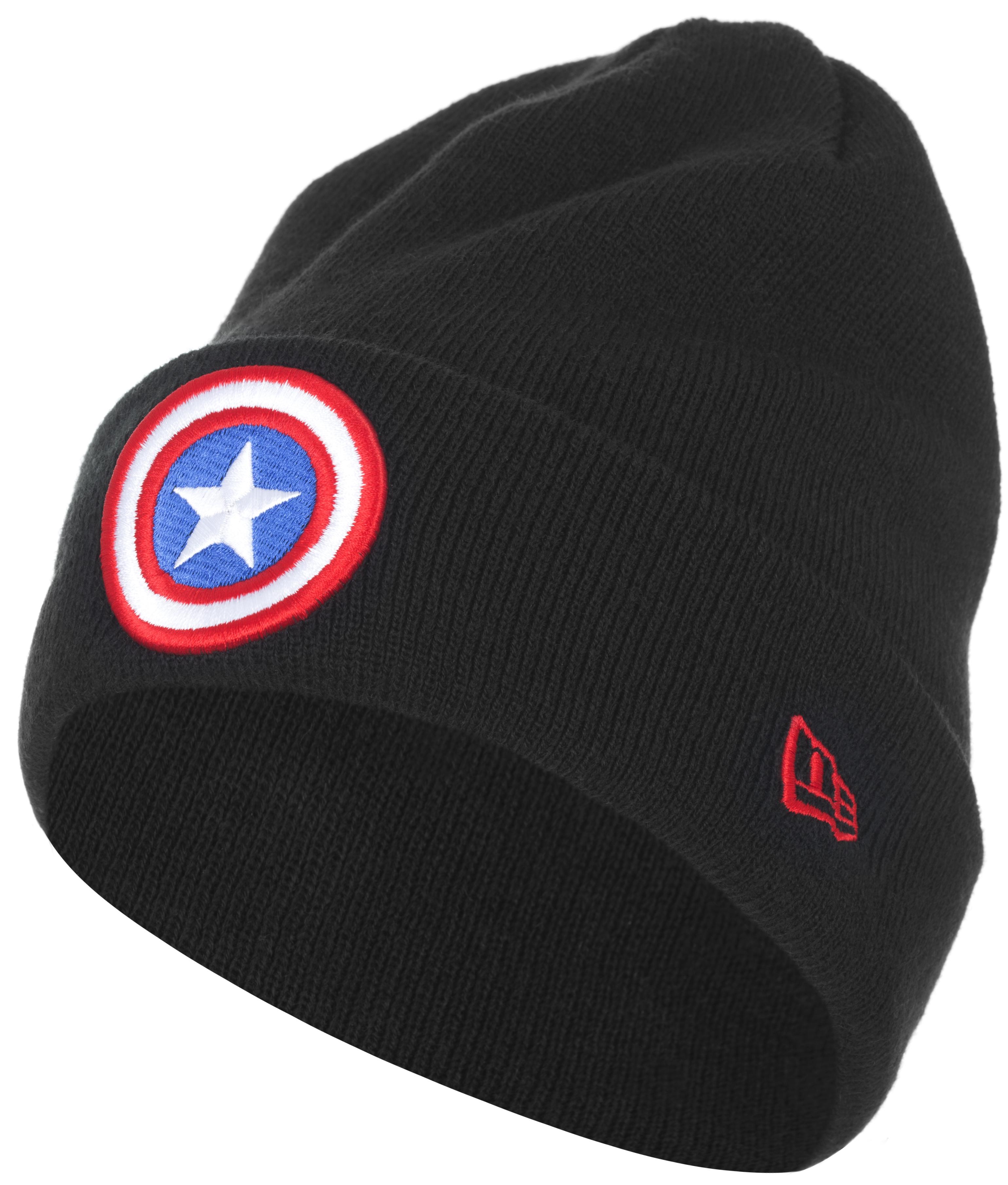 New Era Шапка New Era avengers маска captain america цвет голубой