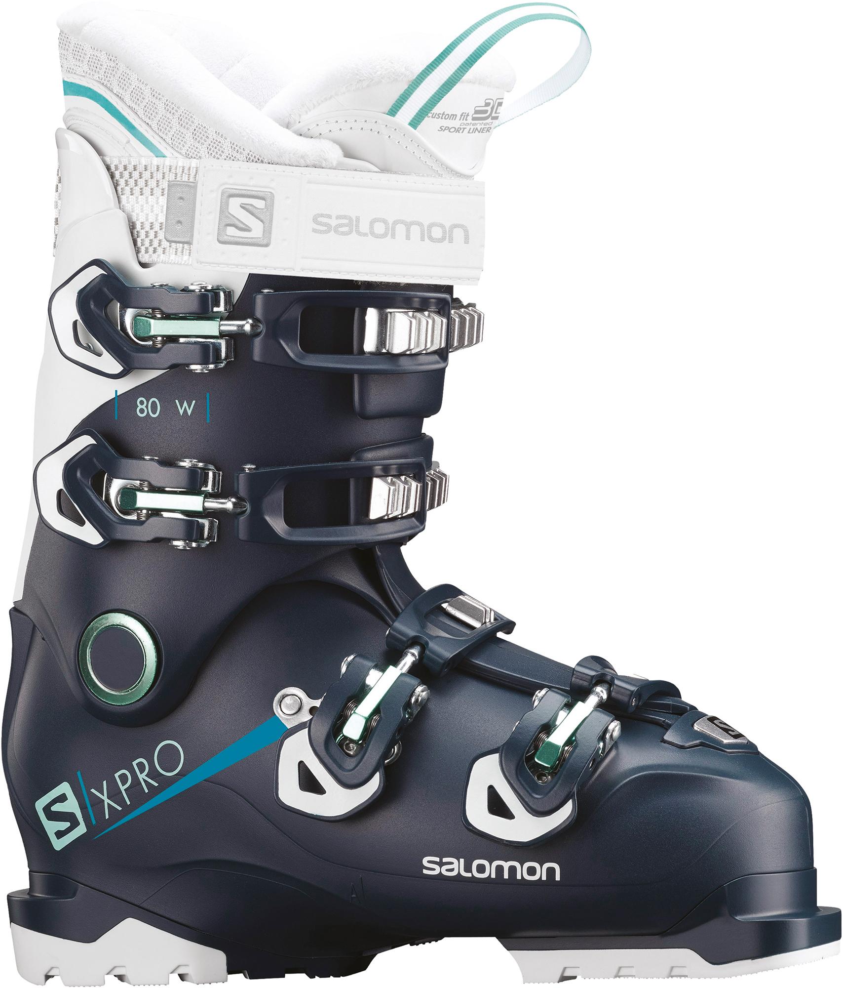 Salomon Ботинки горнолыжные женские Salomon X PRO 80, размер 37 salomon ботинки горнолыжные salomon x pro 110 размер 44
