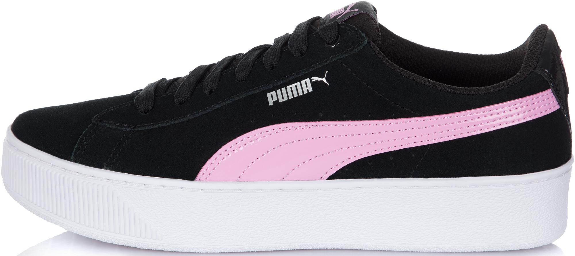купить Puma Кеды для девочек Puma Vikky Platform, размер 38 по цене 4499 рублей