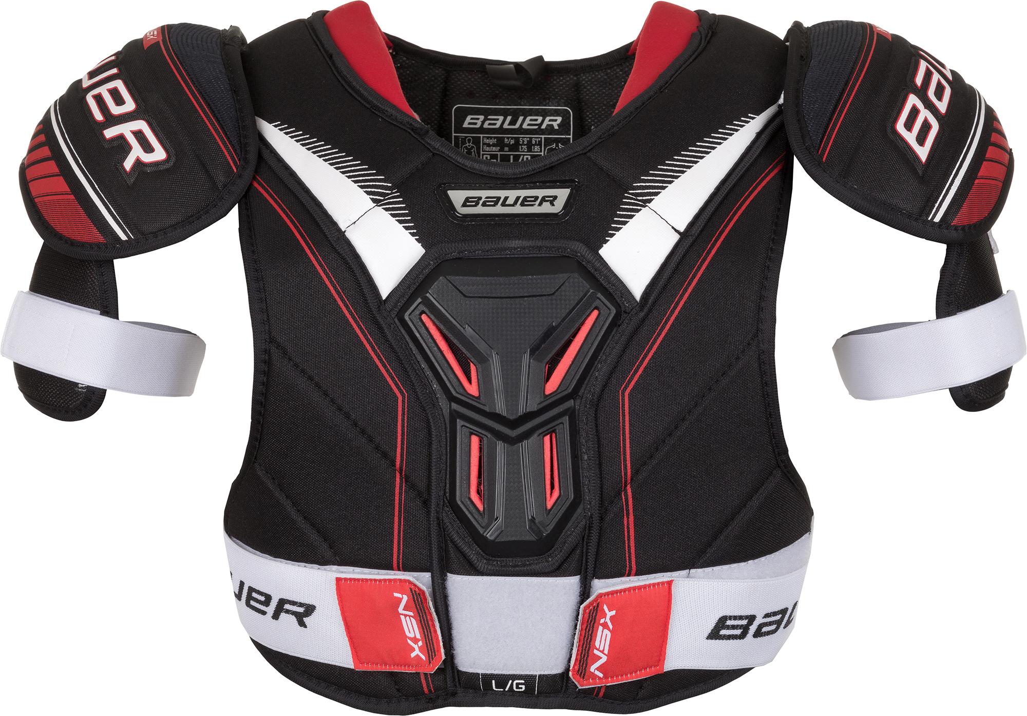 Bauer Защита торса хоккейная Bauer NSX bauer клюшка хоккейная bauer nexus 2n pro h18 grip sr размер l