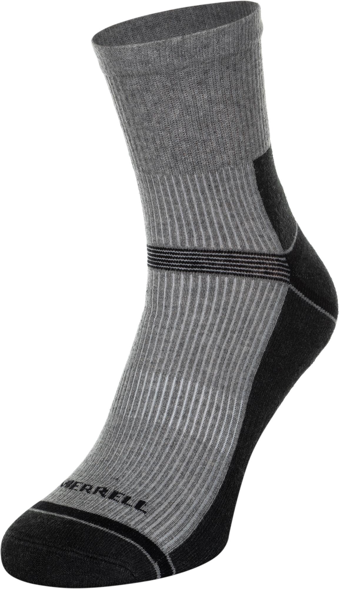 Merrell Носки Merrell, 1 пара, размер 43-46 носки для велосипедистов santo coolmax s022
