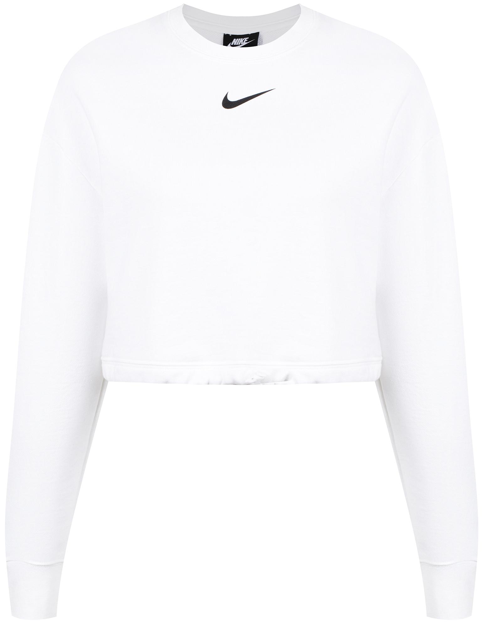 цена Nike Свитшот женский Nike Sportswear Swoosh, размер 46-48 онлайн в 2017 году