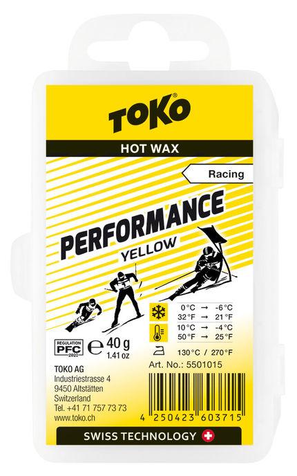 Toko Мазь скольжения TOKO Performance yellow 40g, 0С/-6C недорого