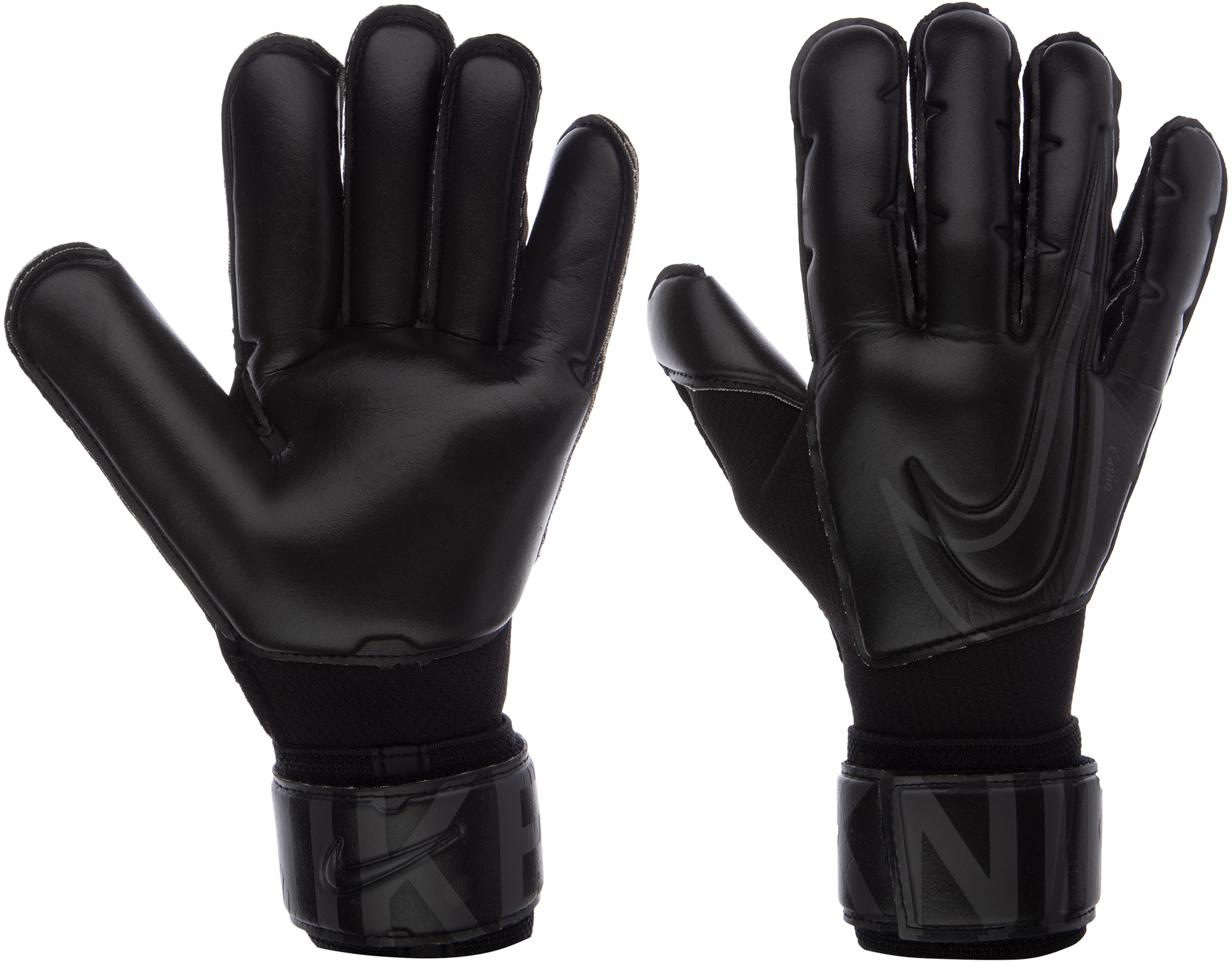 Nike Перчатки вратарские Grip3, размер 10