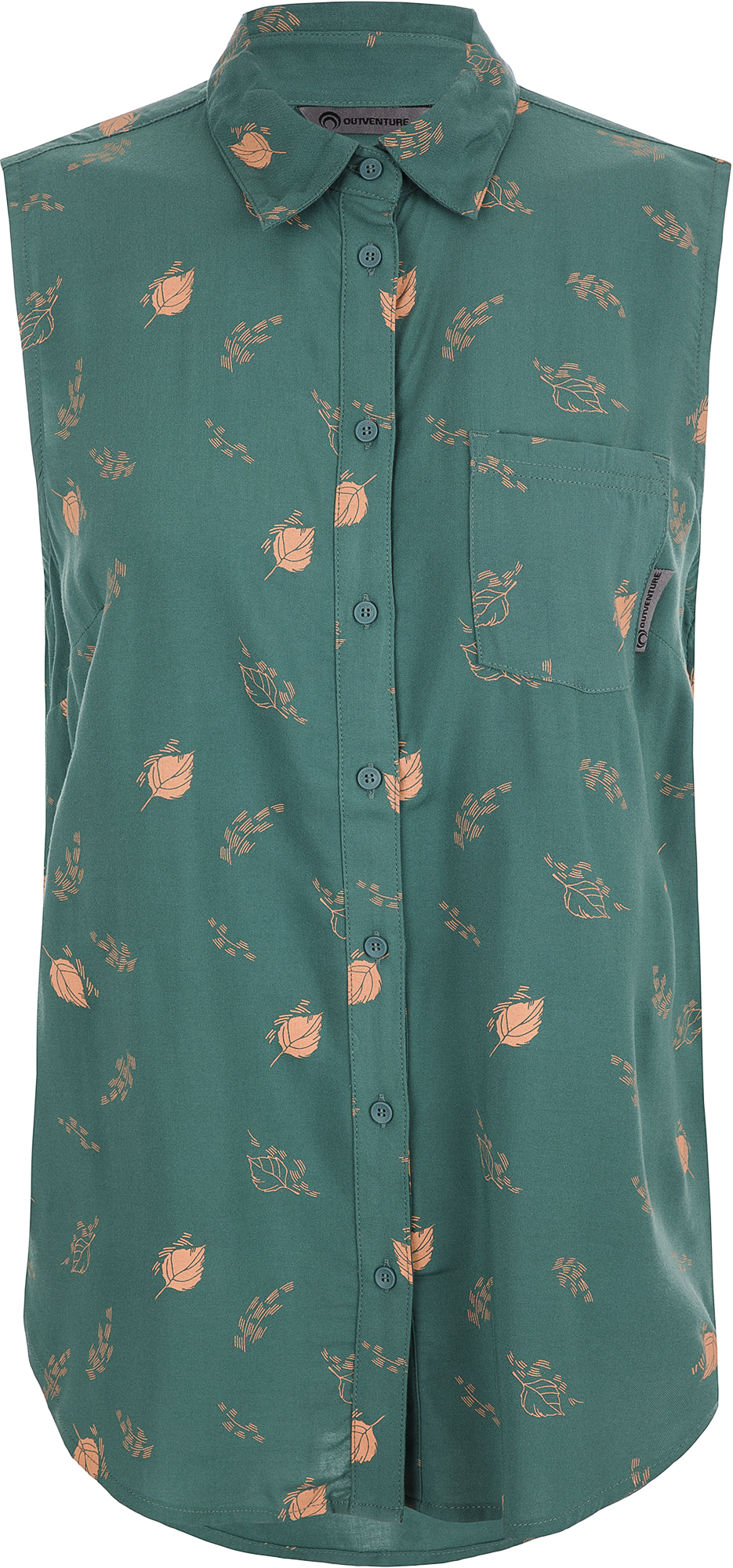 Outventure Рубашка без рукавов женская Outventure, размер 52 цена 2017