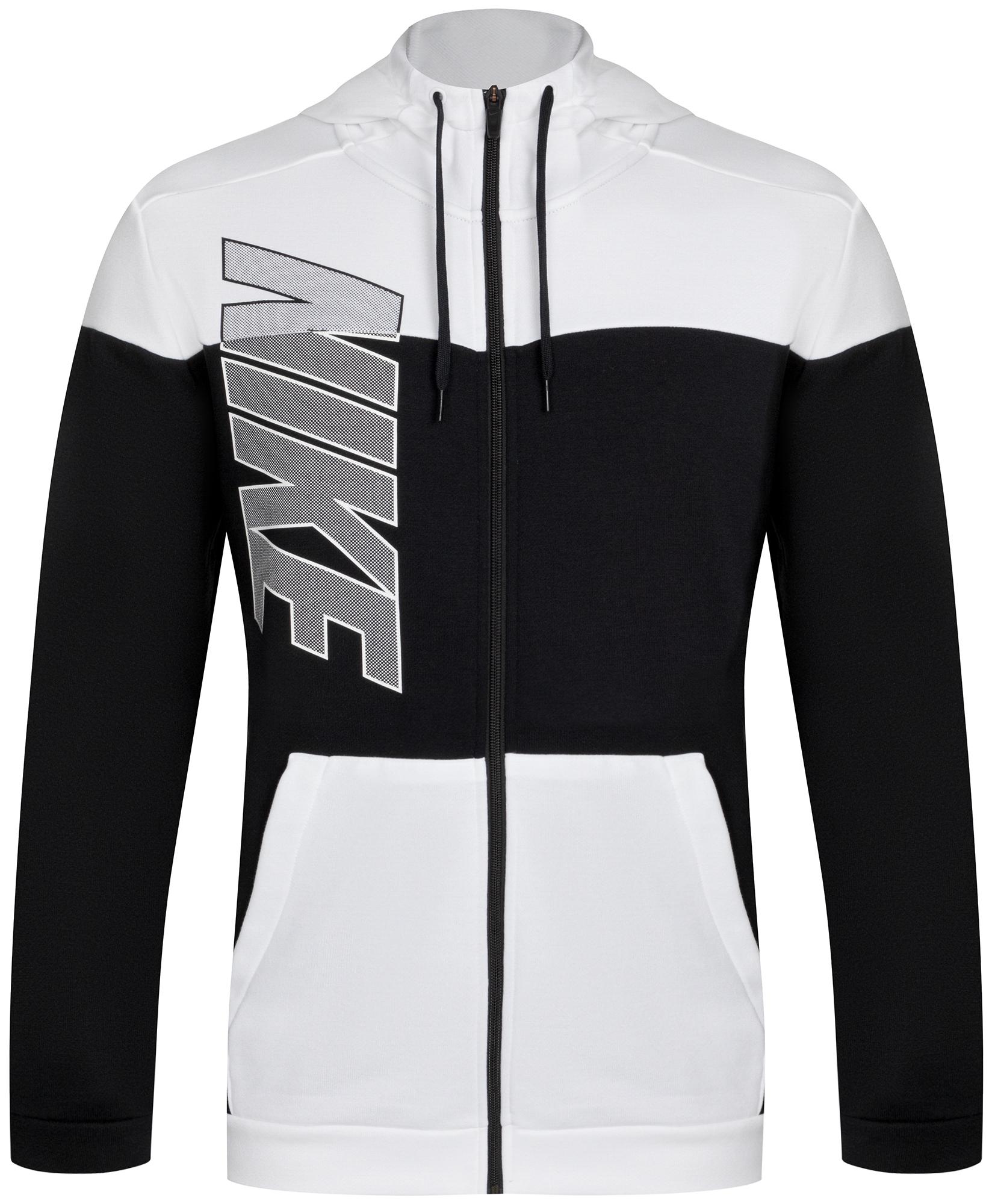 Nike Толстовка мужская Nike Dri-FIT, размер 44-46 мужская толстовка 2015 slim fit w20