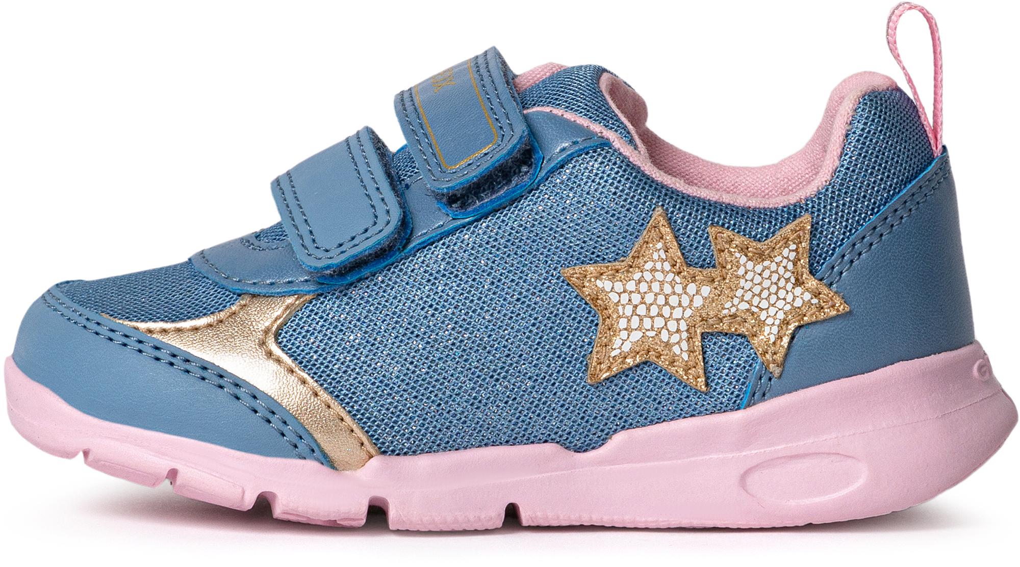 Geox Кроссовки для девочек Geox Runner, размер 24 цена 2017