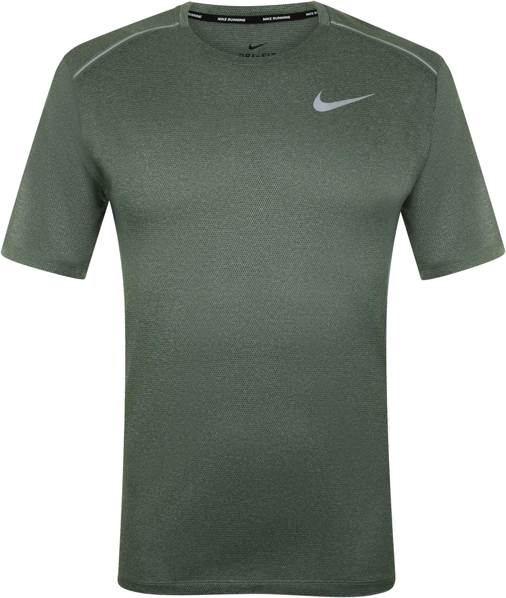 Nike Футболка мужская Nike Dry Cool Miler, размер 44-46 nike футболка мужская nike cool miler
