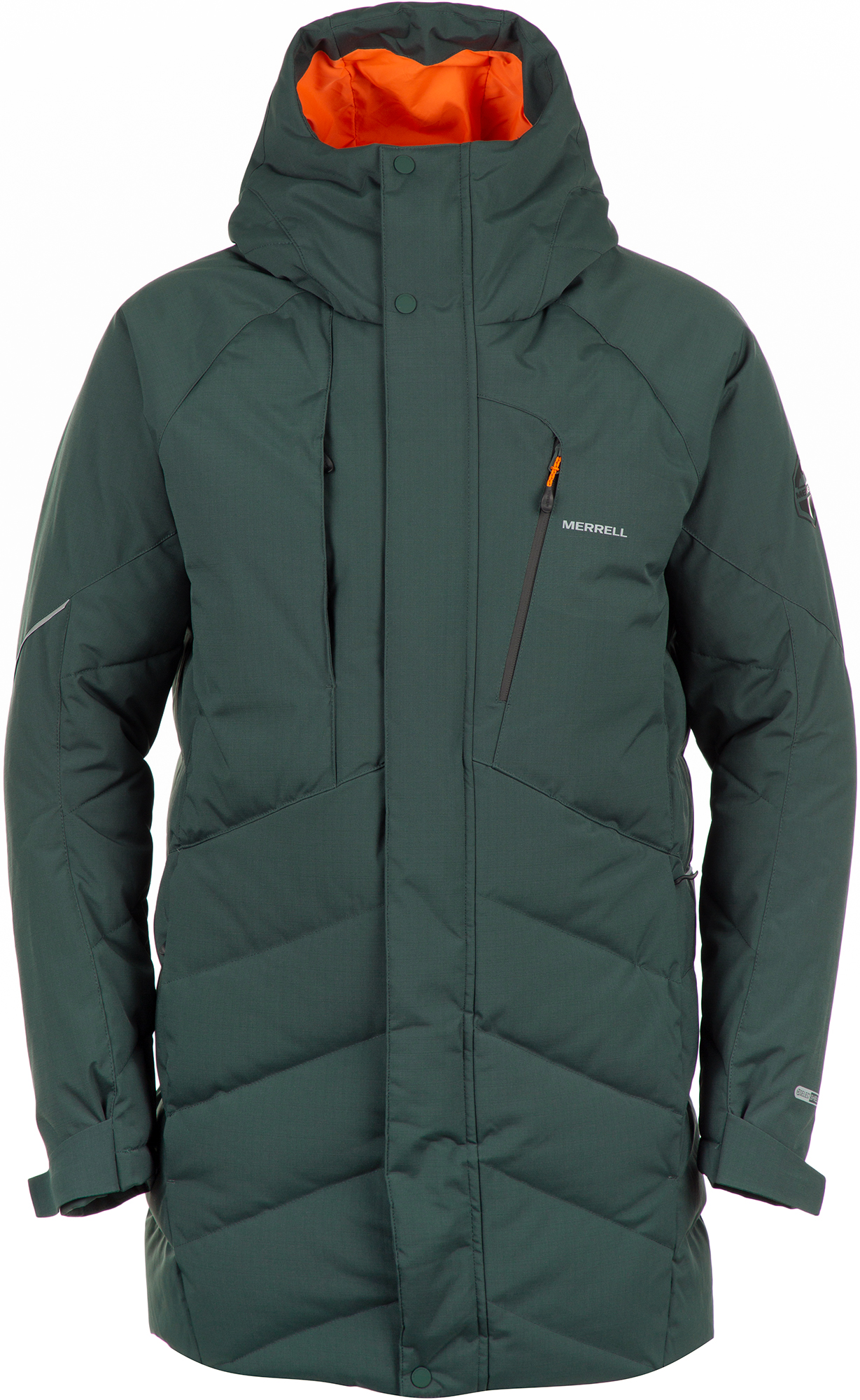 Merrell Куртка пуховая мужская Merrell, размер 52 пуховик женский merrell women s jacket цвет петроль a19amrjaw02 s3 размер 46
