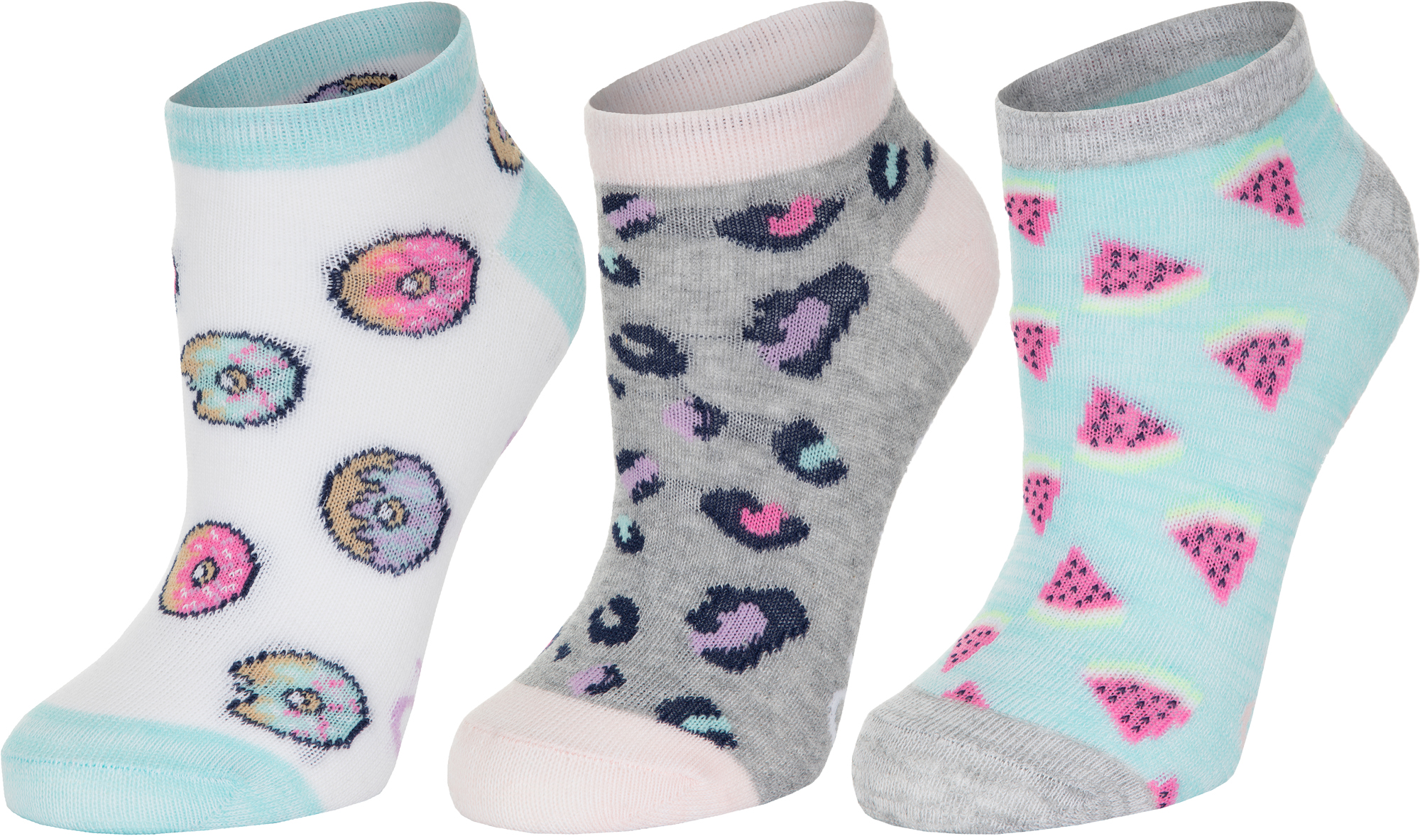 Skechers Носки для девочек Skechers, 2 пары, размер 24-35 skechers носки женские skechers 3 пары размер 35 39